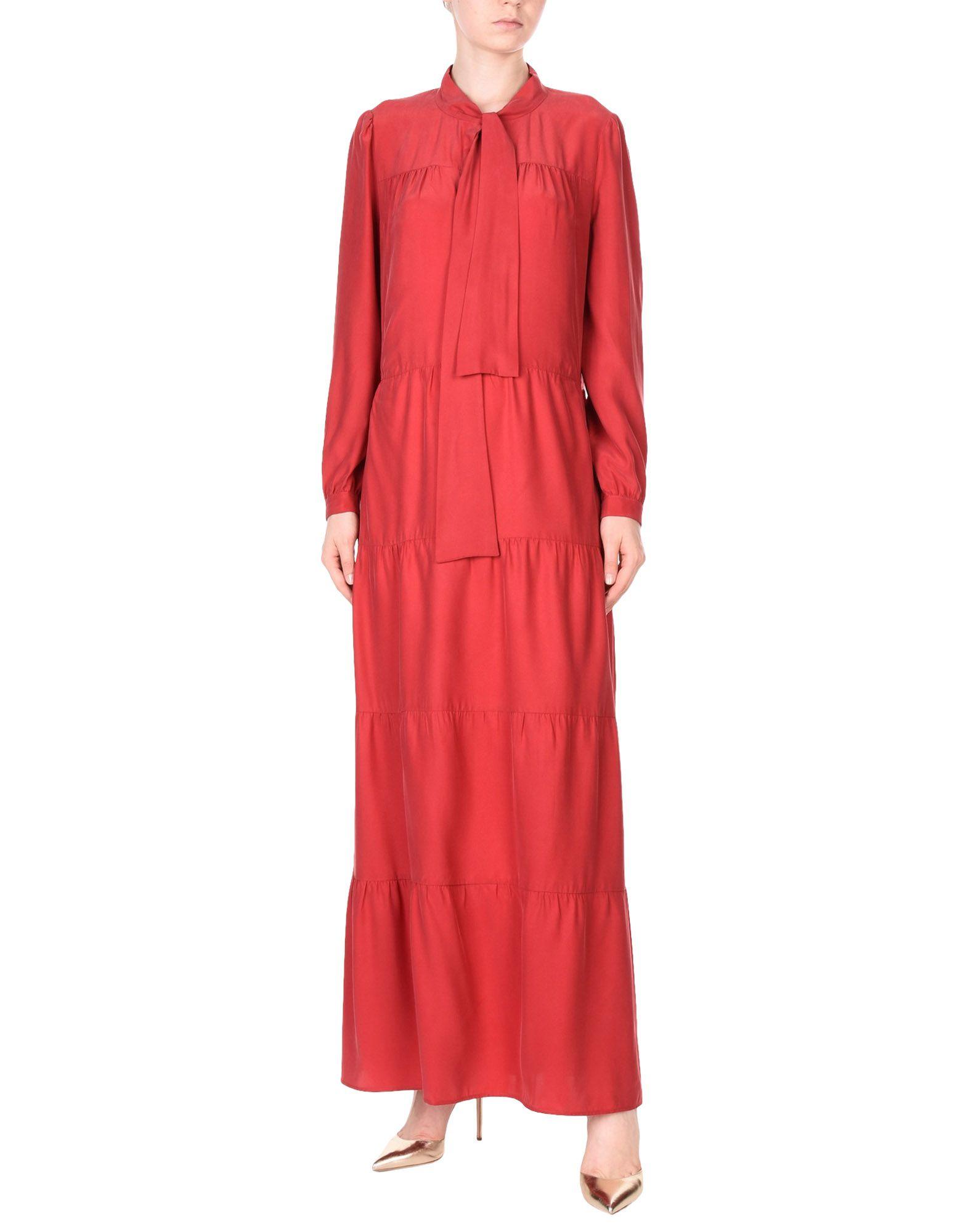 TWIN-SET Simona Barbieri Длинное платье платье twin set simona barbieri twin set simona barbieri tw005ewzlx76