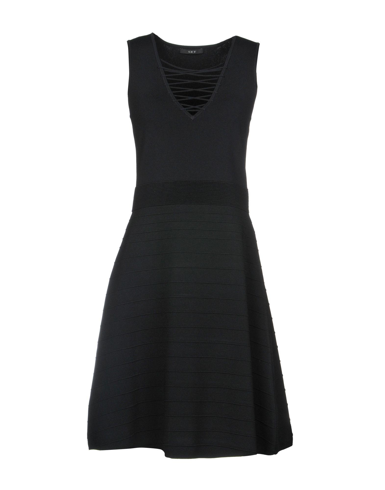 SET Платье до колена