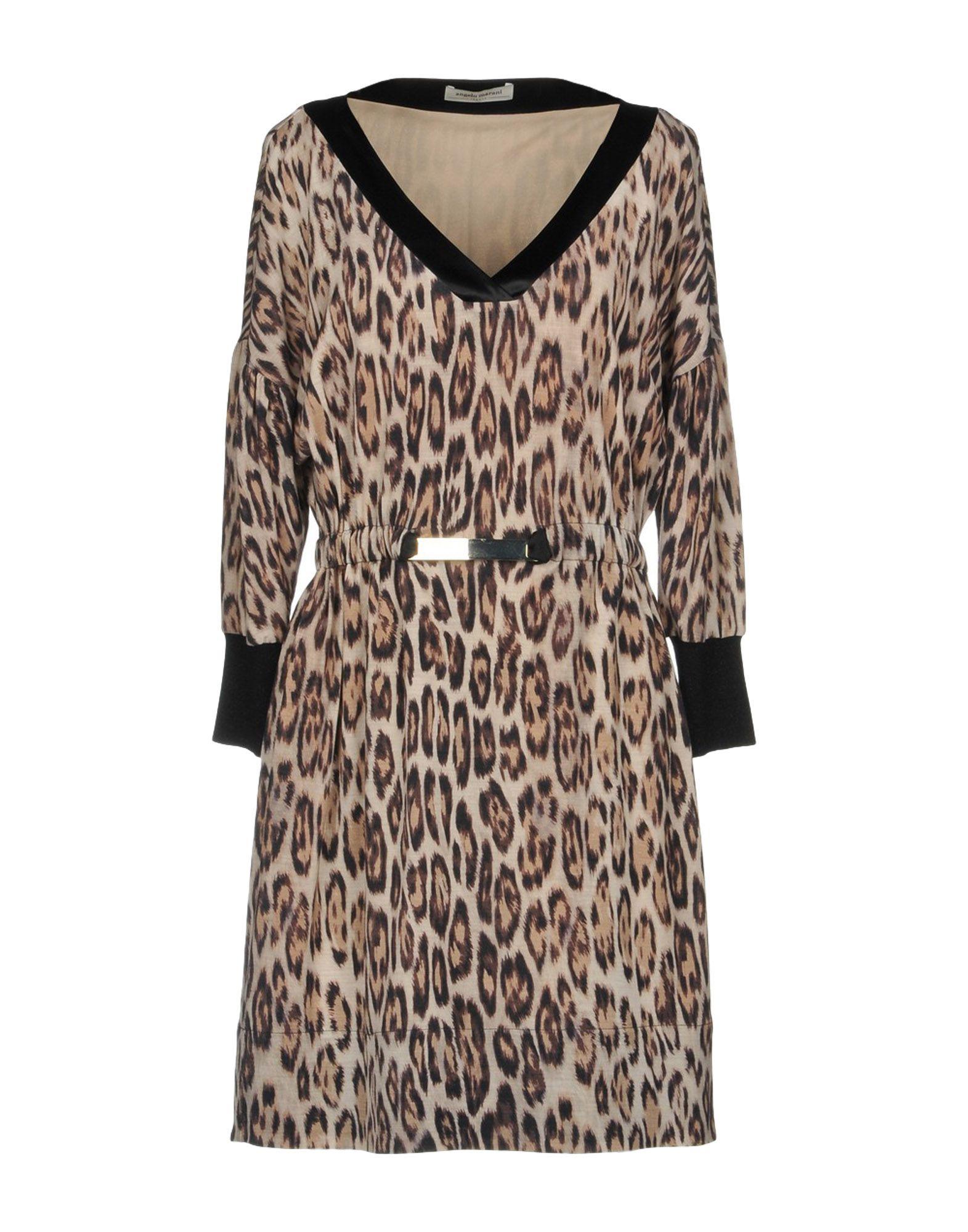 купить ANGELO MARANI Короткое платье по цене 17000 рублей