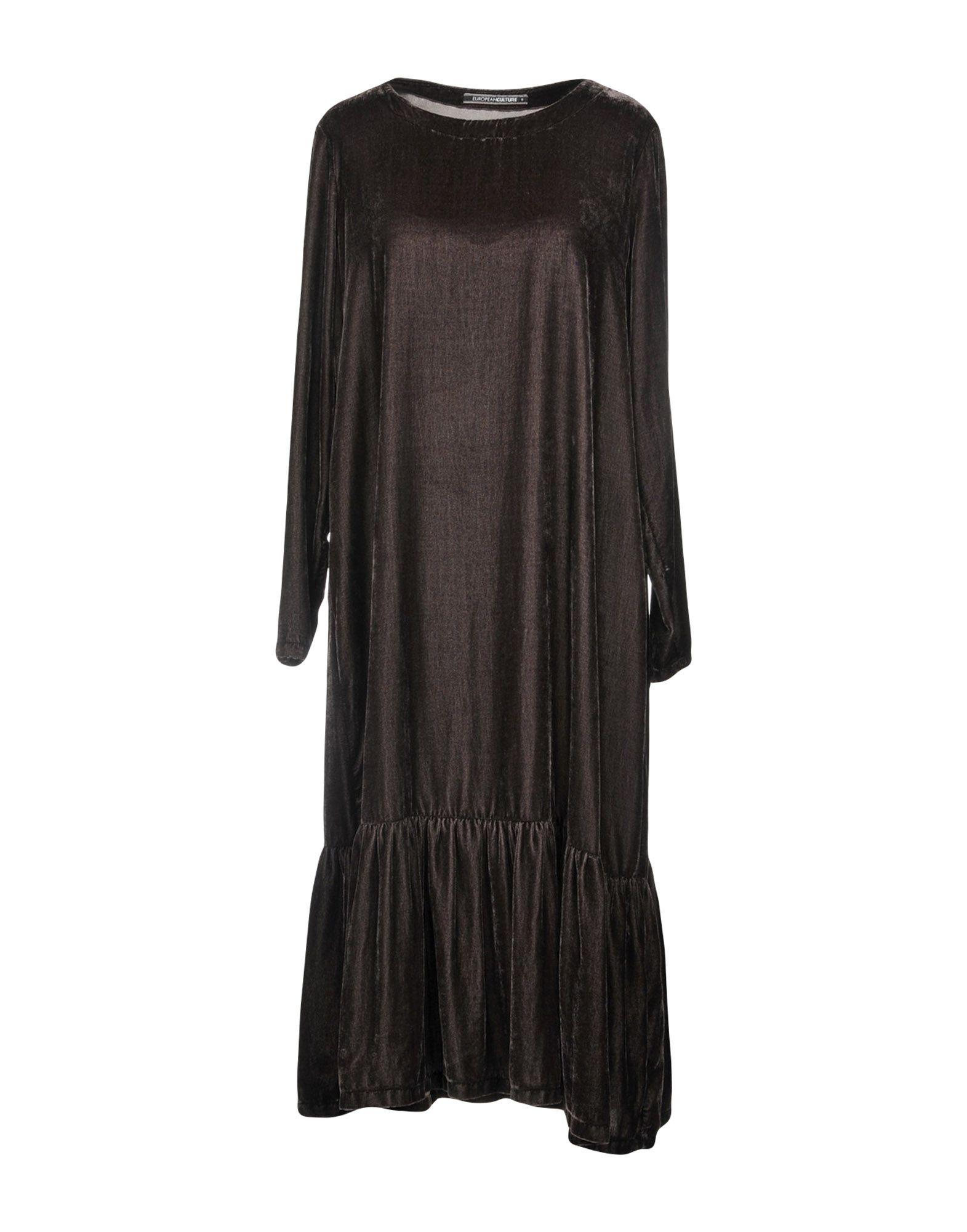EUROPEAN CULTURE Платье до колена european culture платье до колена