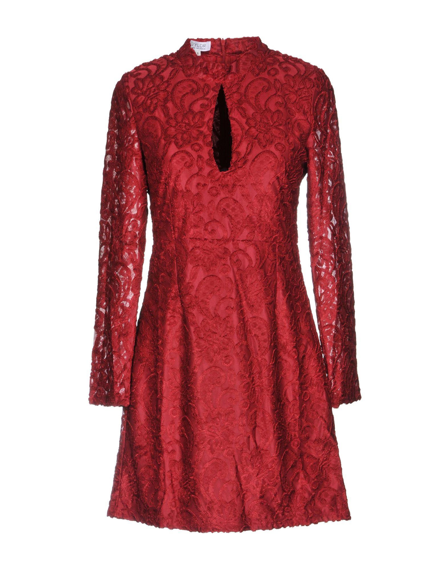 WYLDR Short Dress in Red