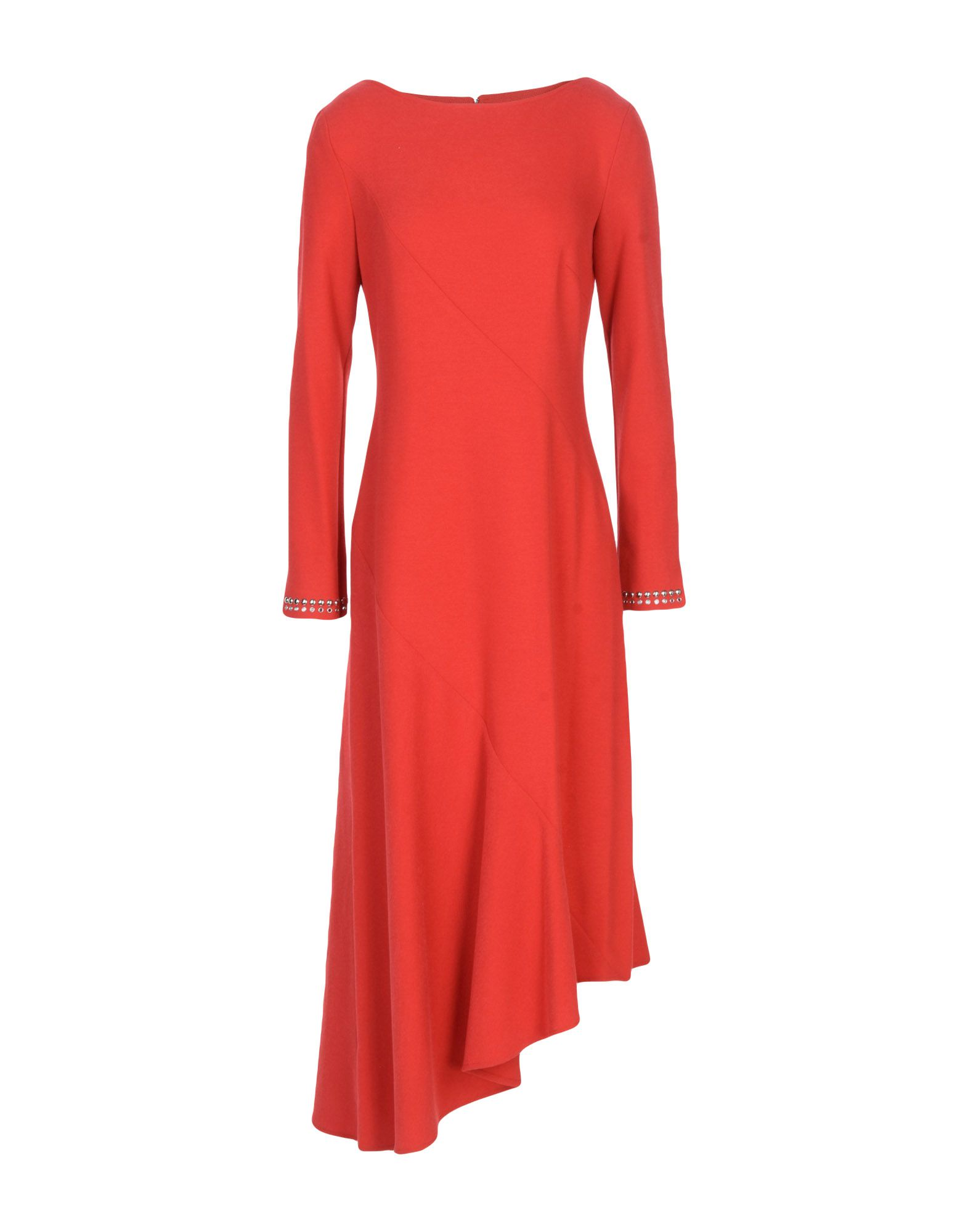 PINKO Платье до колена inov 8 кроссовки roclite 305 жен 5 teal red black