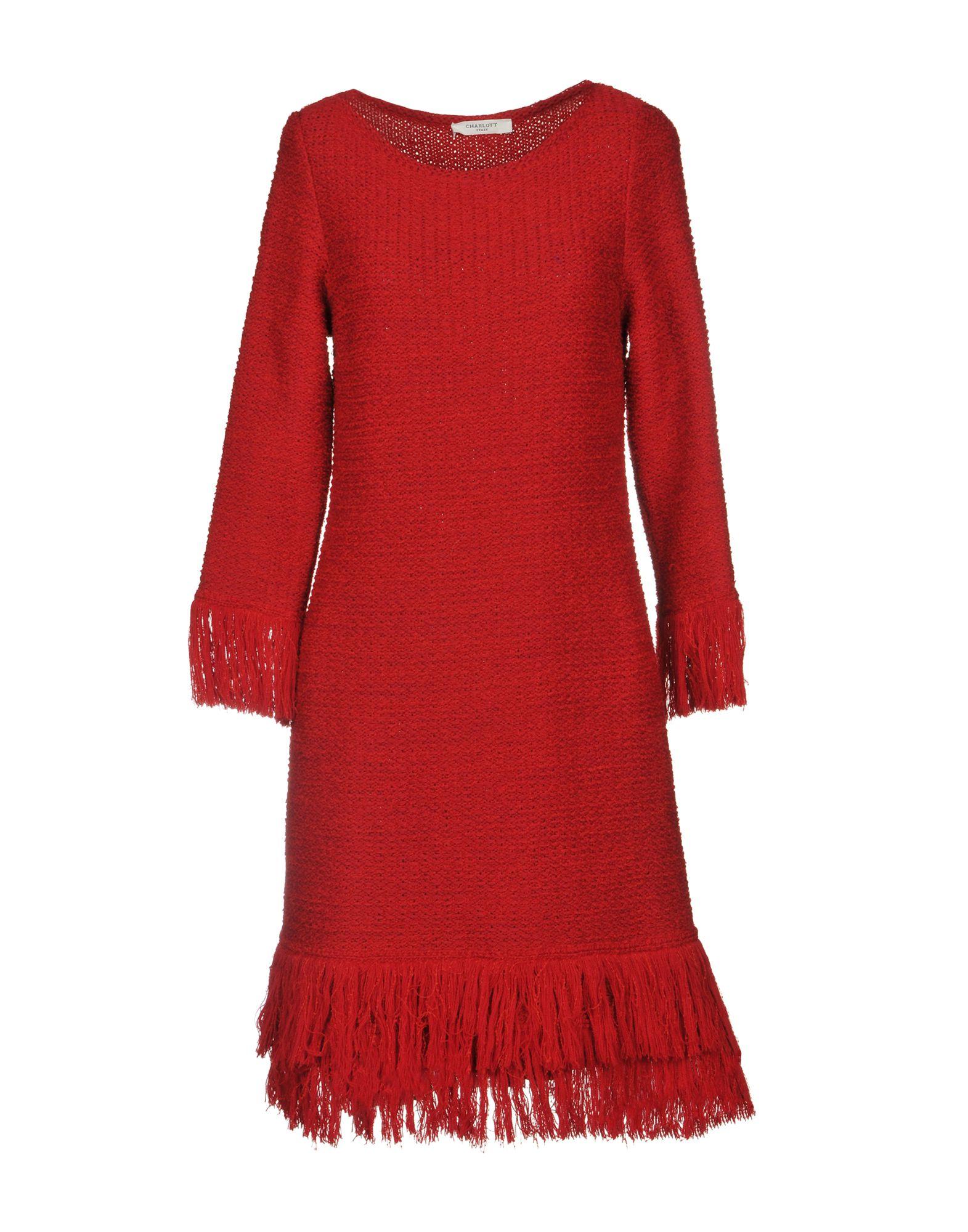 CHARLOTT Короткое платье bonpoint платье charlott с принтом