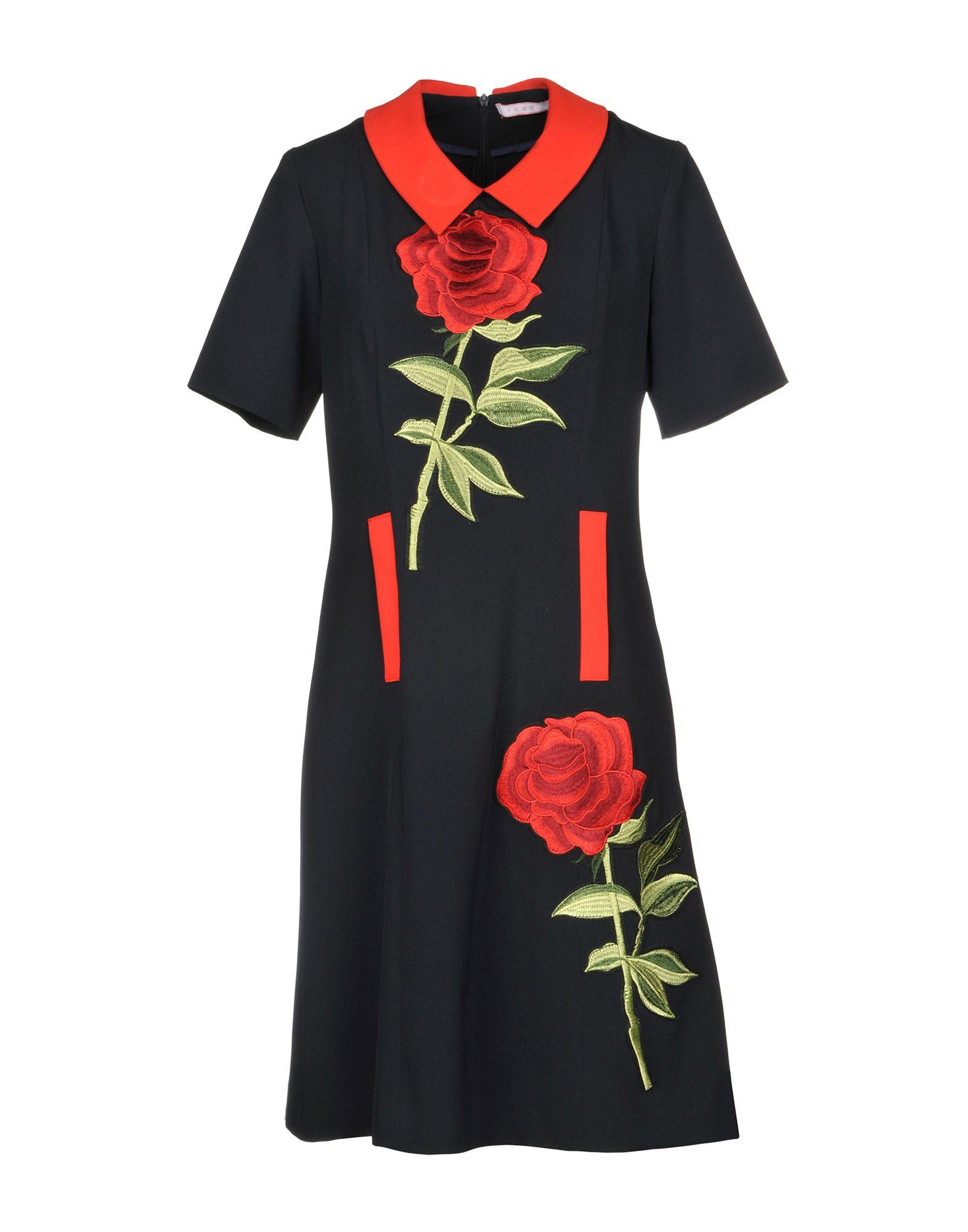 FEMME Короткое платье юбка femme femme mp002xw13uaz
