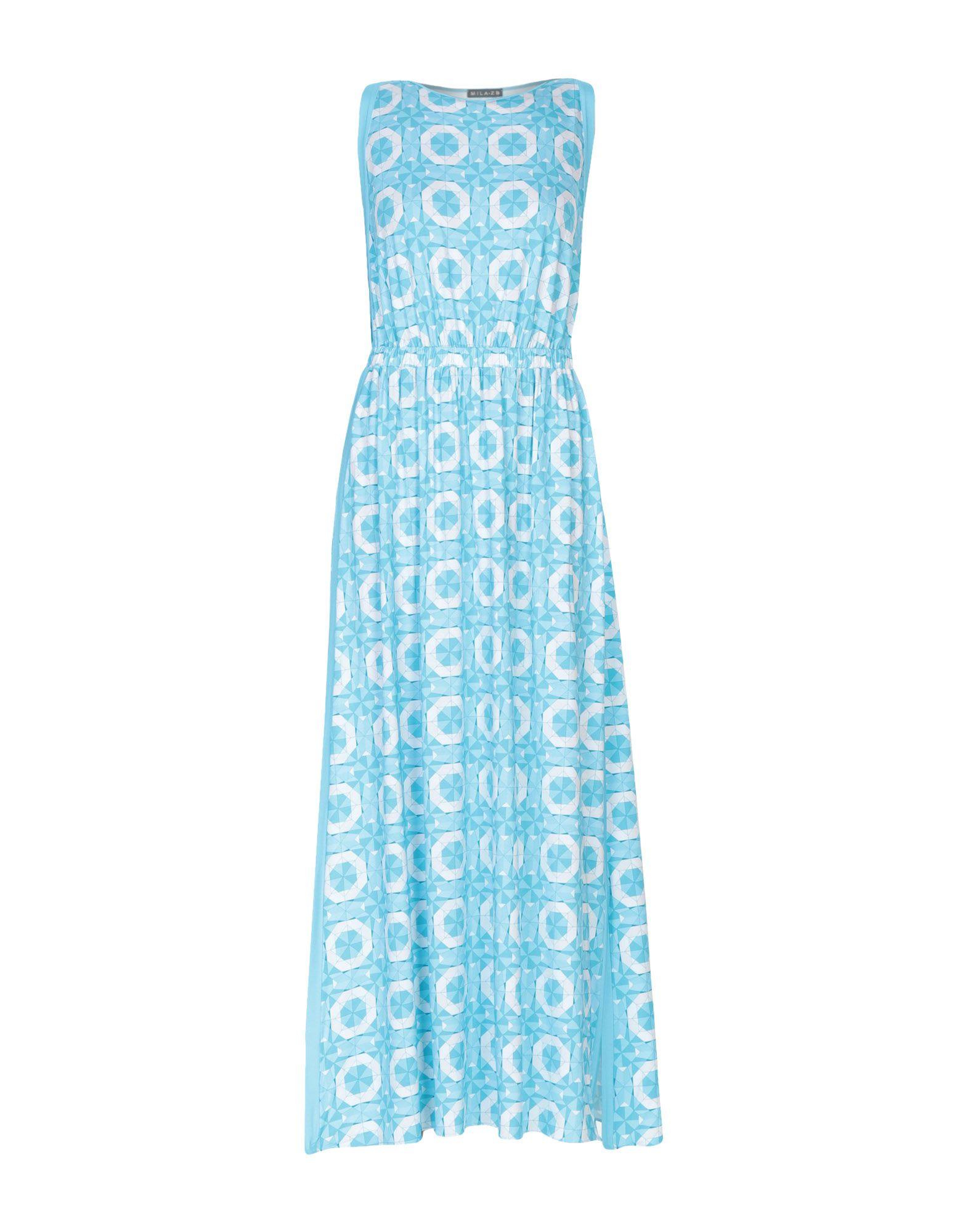 MILA ZB Длинное платье