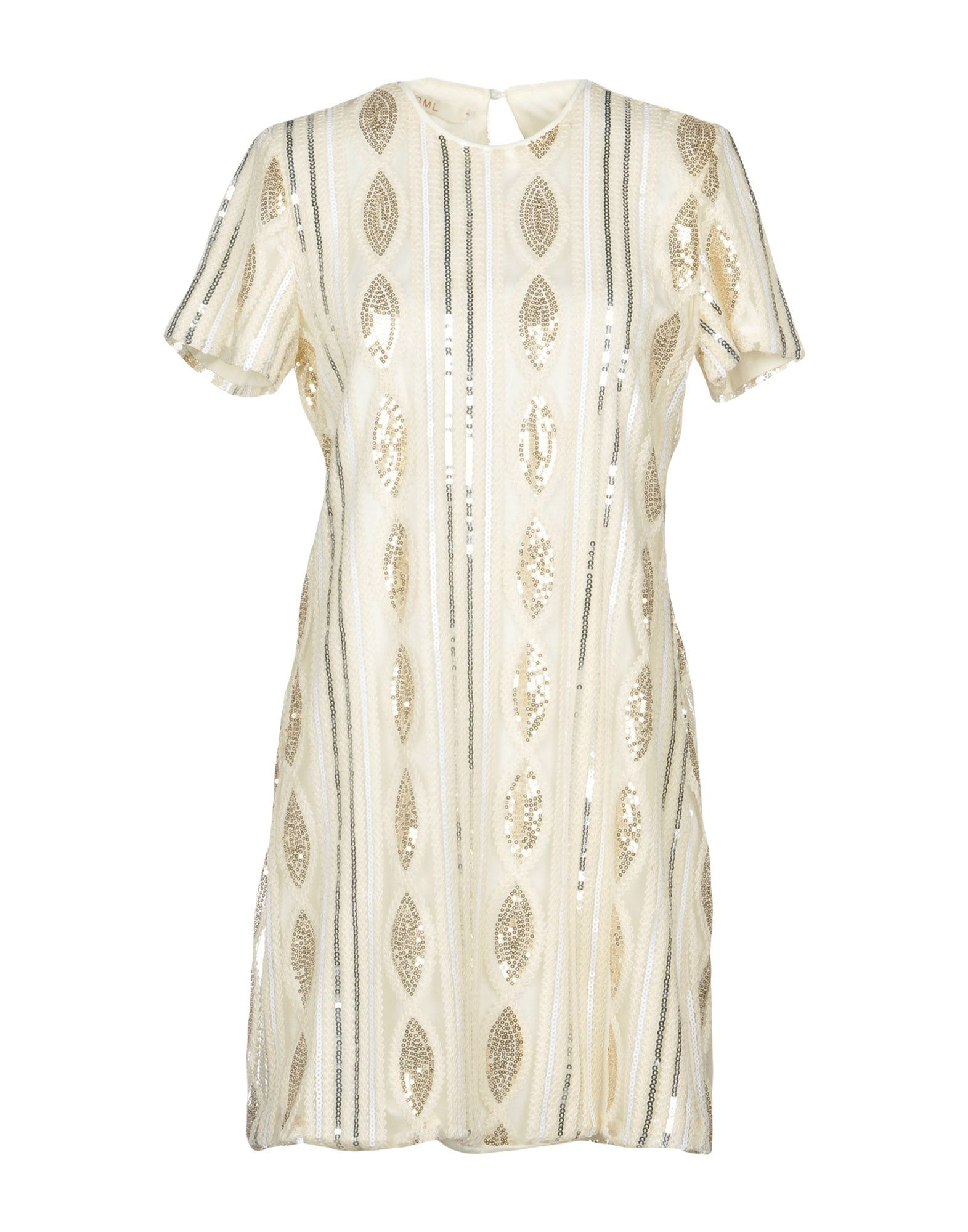 OH MY LOVE Short Dress in Ivory