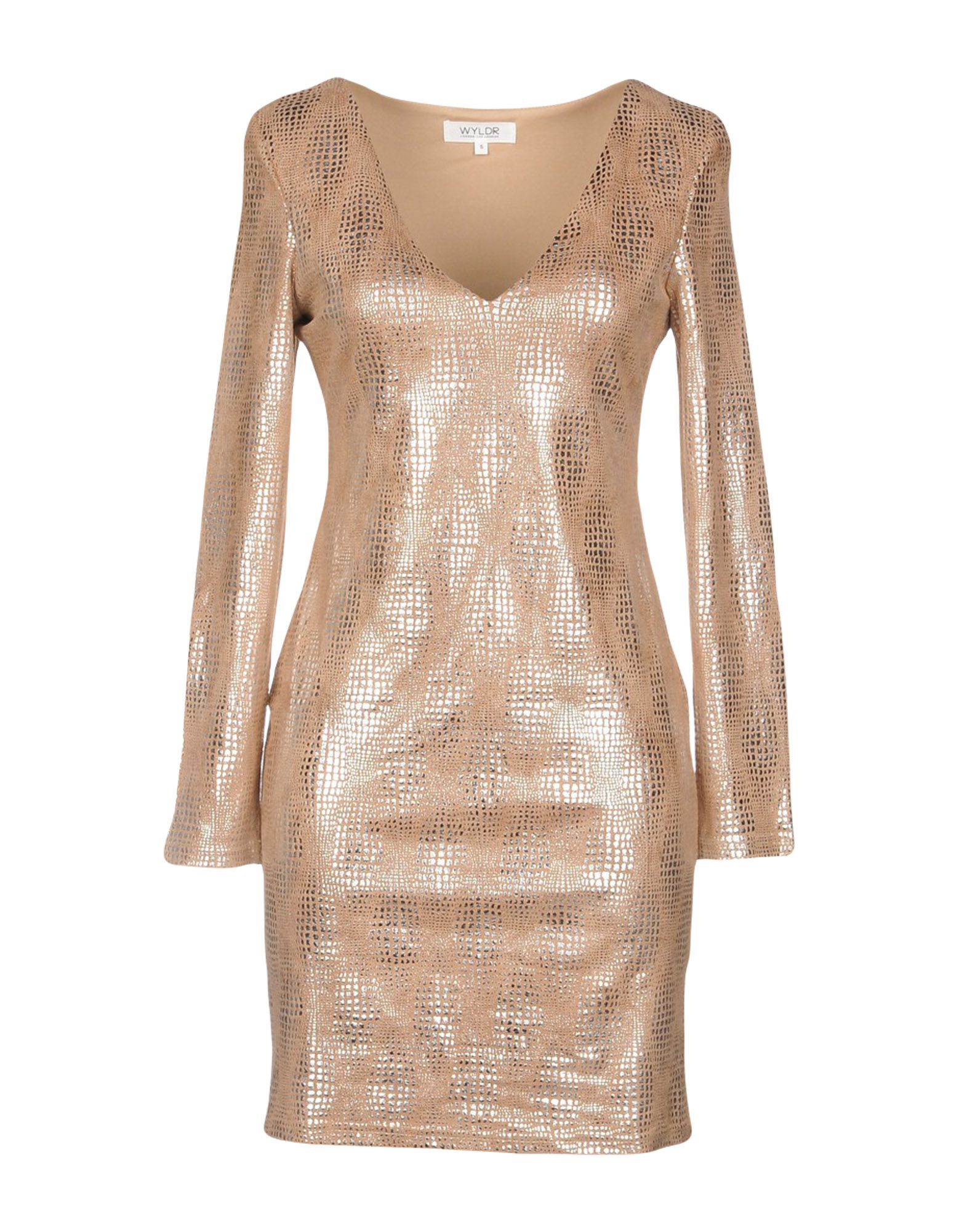 WYLDR Short Dress in Sand