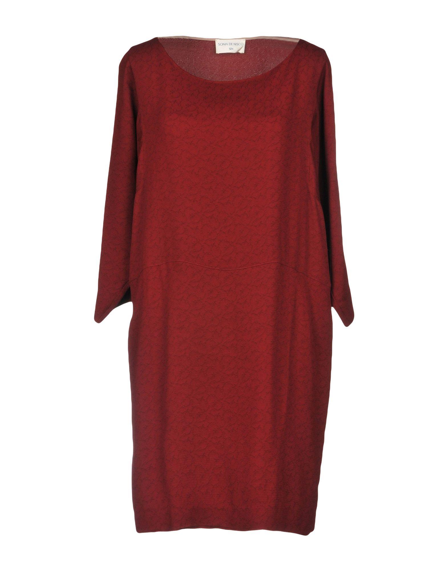 SONIA DE NISCO Короткое платье pas de quoi короткое платье
