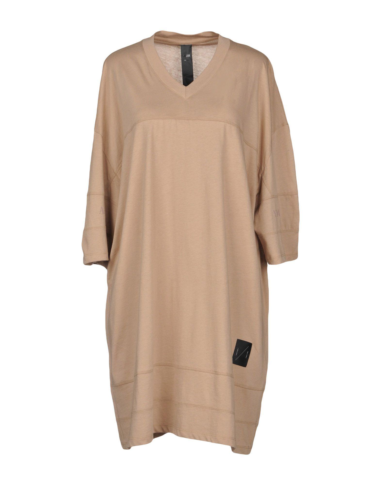 ODEUR Короткое платье odeur бермуды