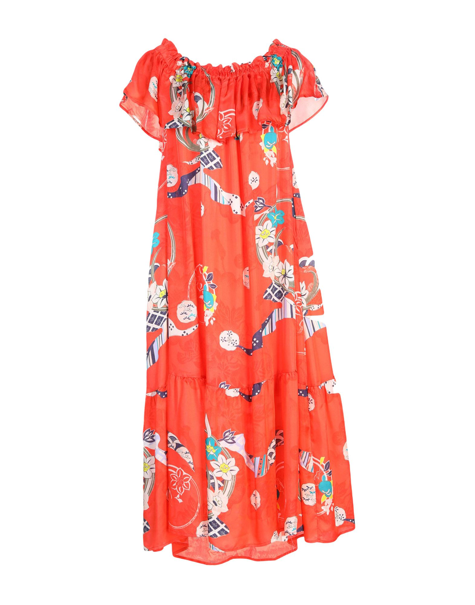 SUOLI Платье длиной 3/4 suoli юбка длиной 3 4
