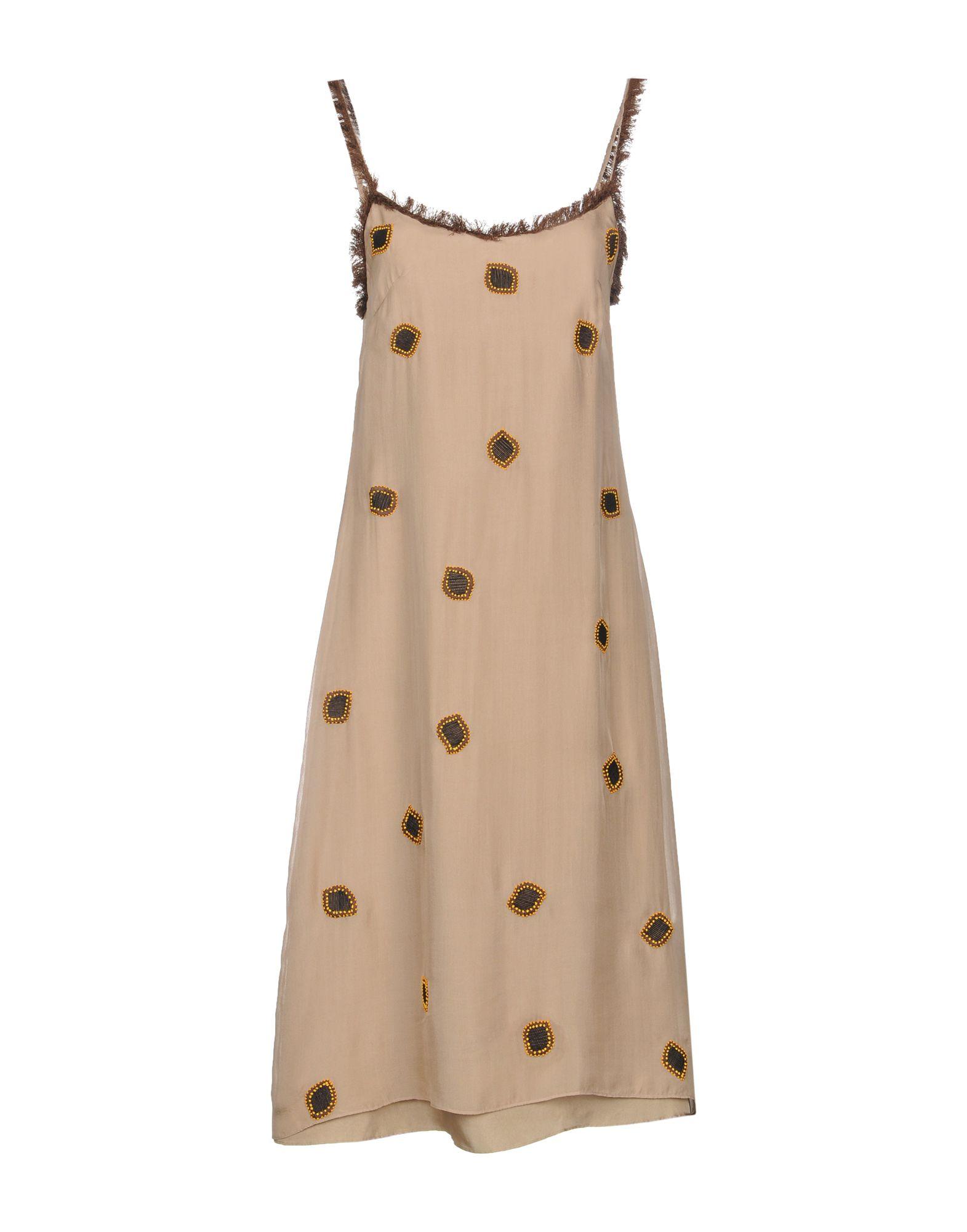 JUPE BY JACKIE Midi Dress in Beige