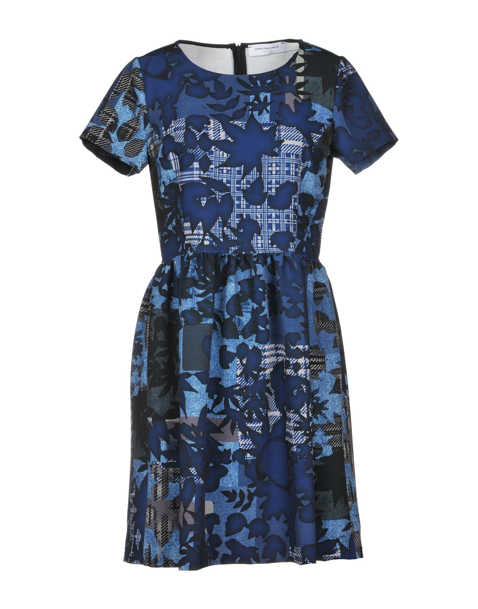 ANNA RACHELE JEANS COLLECTION Короткое платье anna rachele jeans collection короткое платье