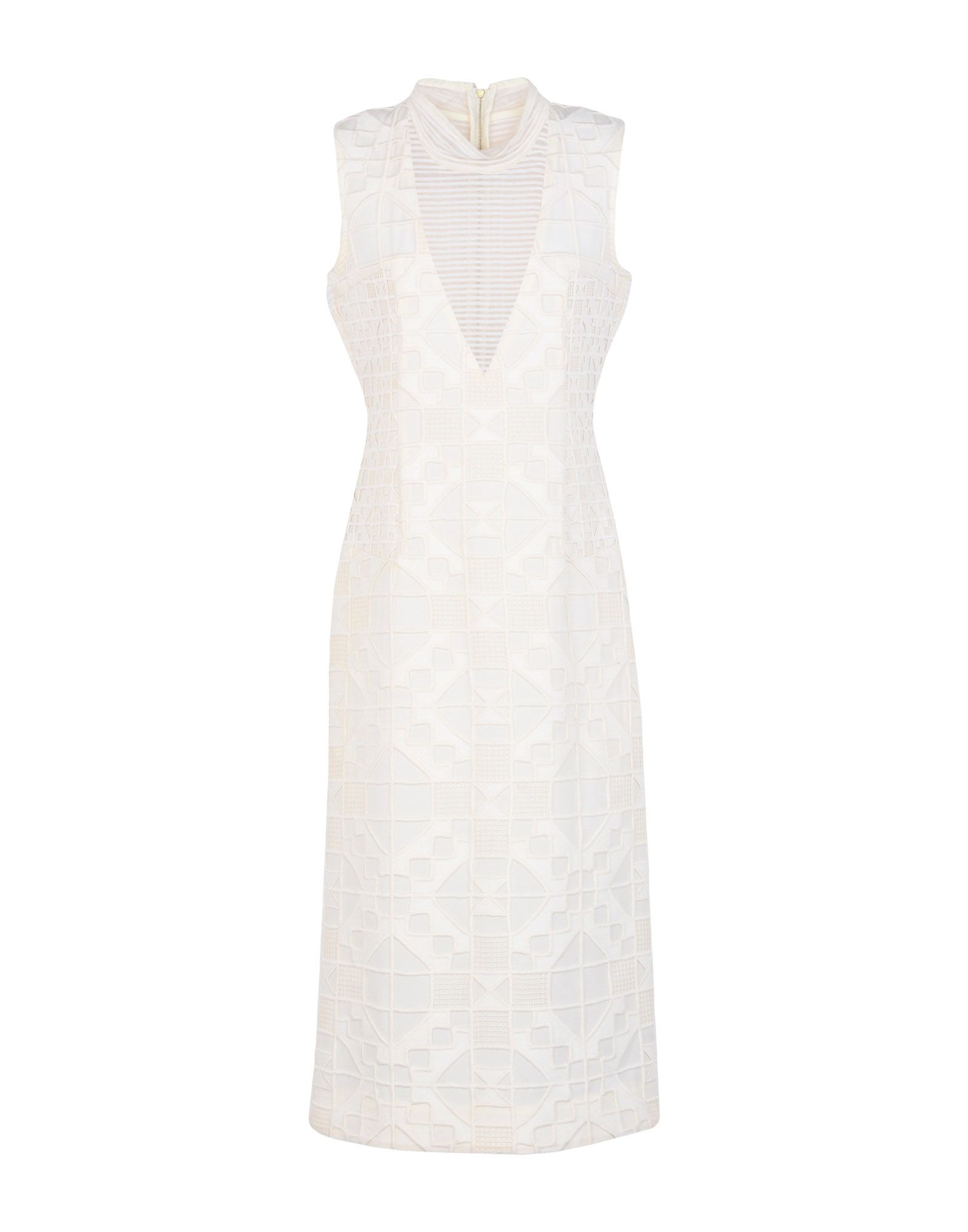 TEATUM JONES 3/4 Length Dresses in Ivory