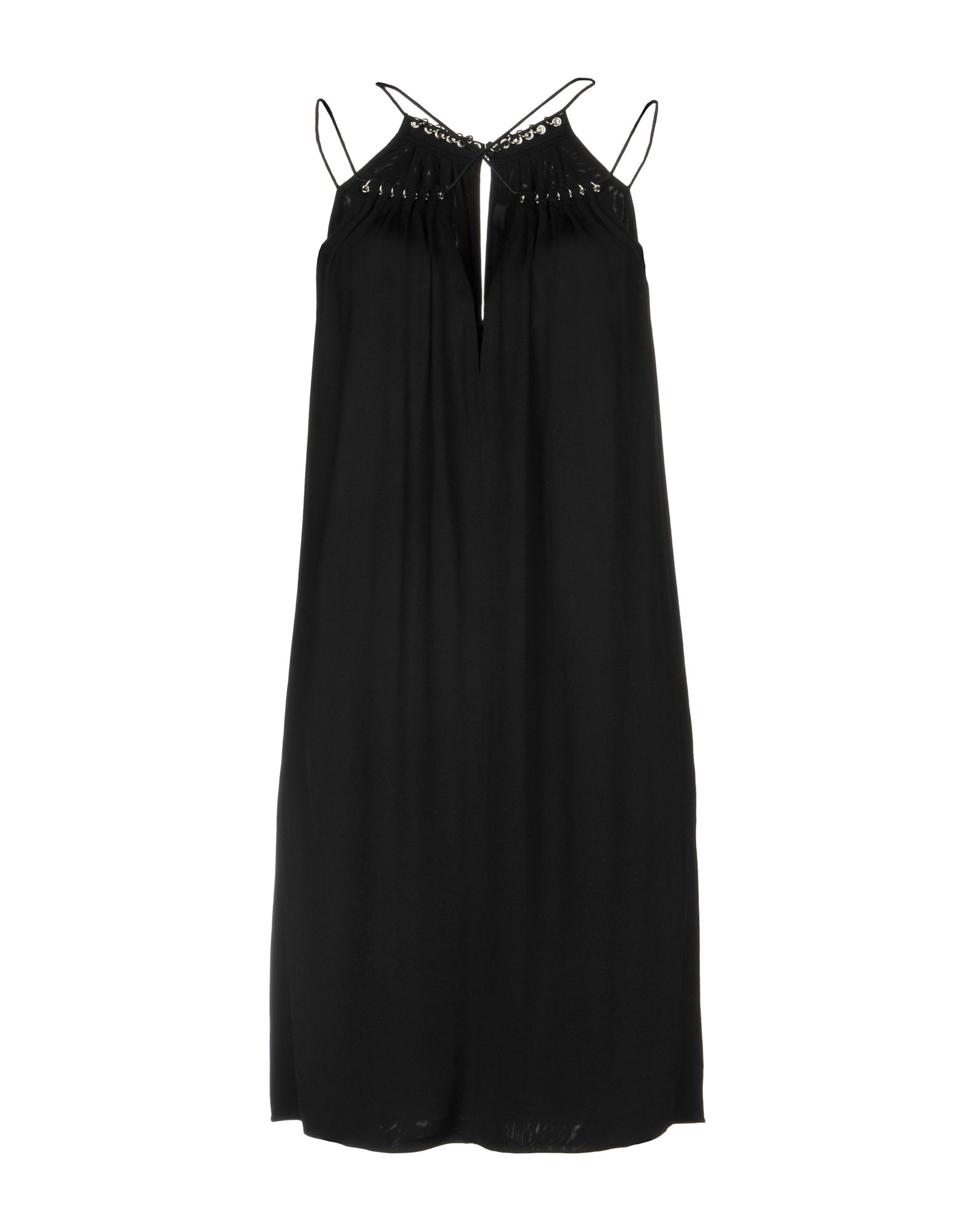 ALEXANDER WANG Короткое платье alexander wang черная хлопковая юбка