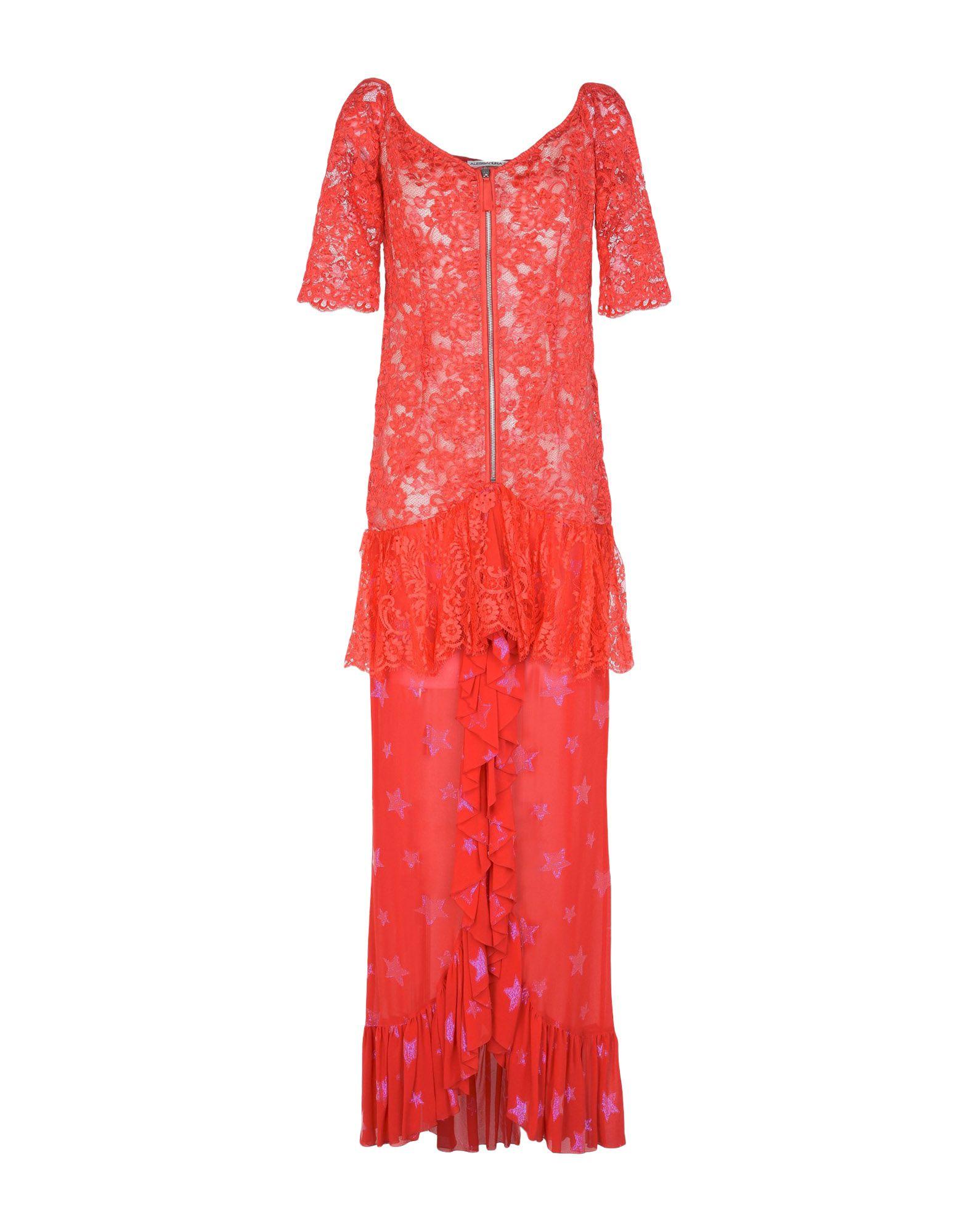 где купить ALESSANDRA RICH Длинное платье дешево