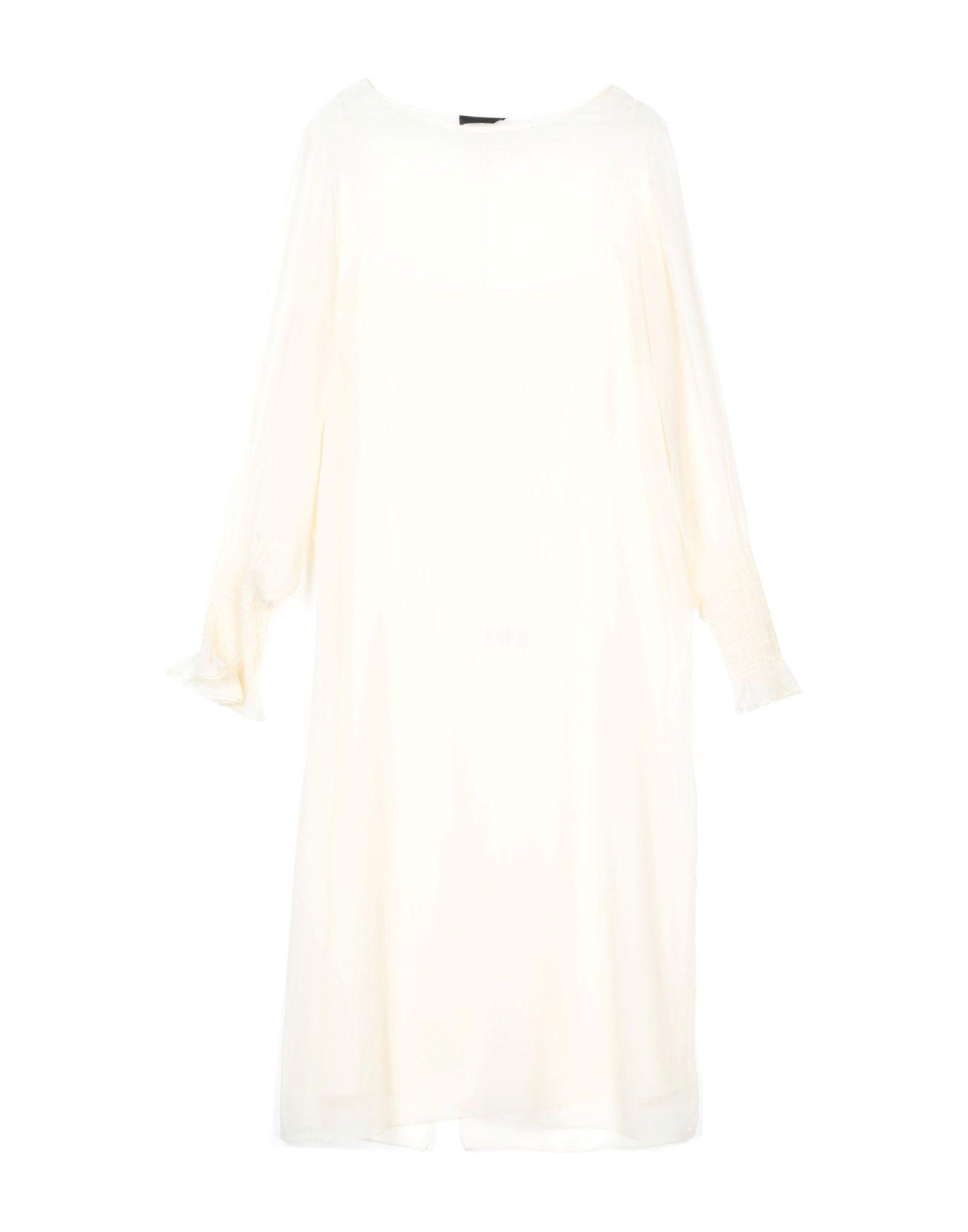 THE ROW Платье до колена the row шелковая юбка