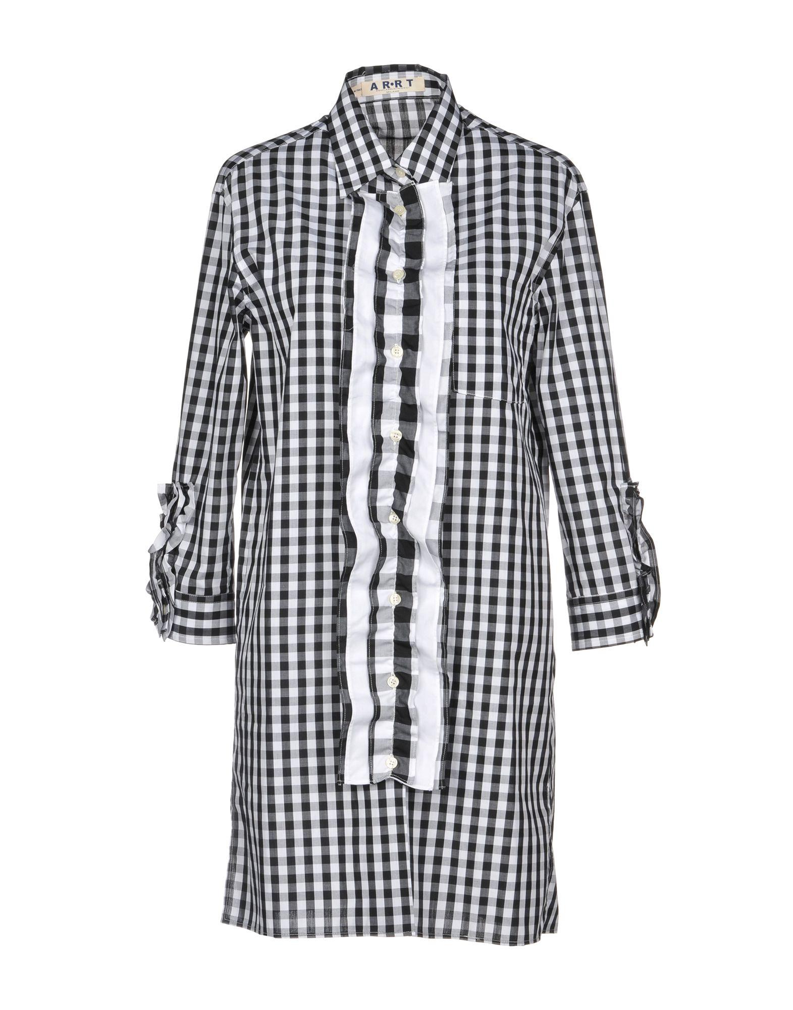 AQUILANO-RIMONDI Короткое платье aquilano rimondi рубашка с короткими рукавами