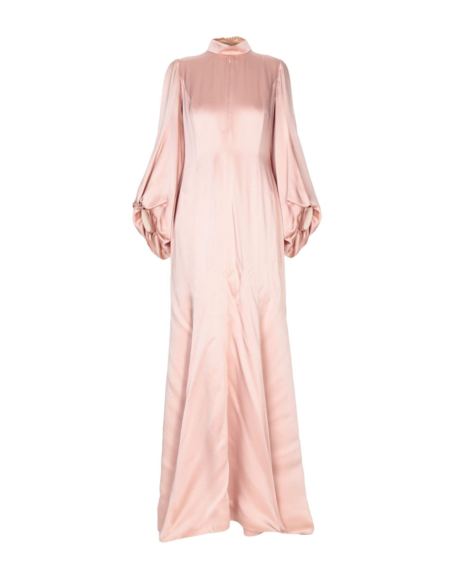 ANDREW GN Long Dress in Pale Pink
