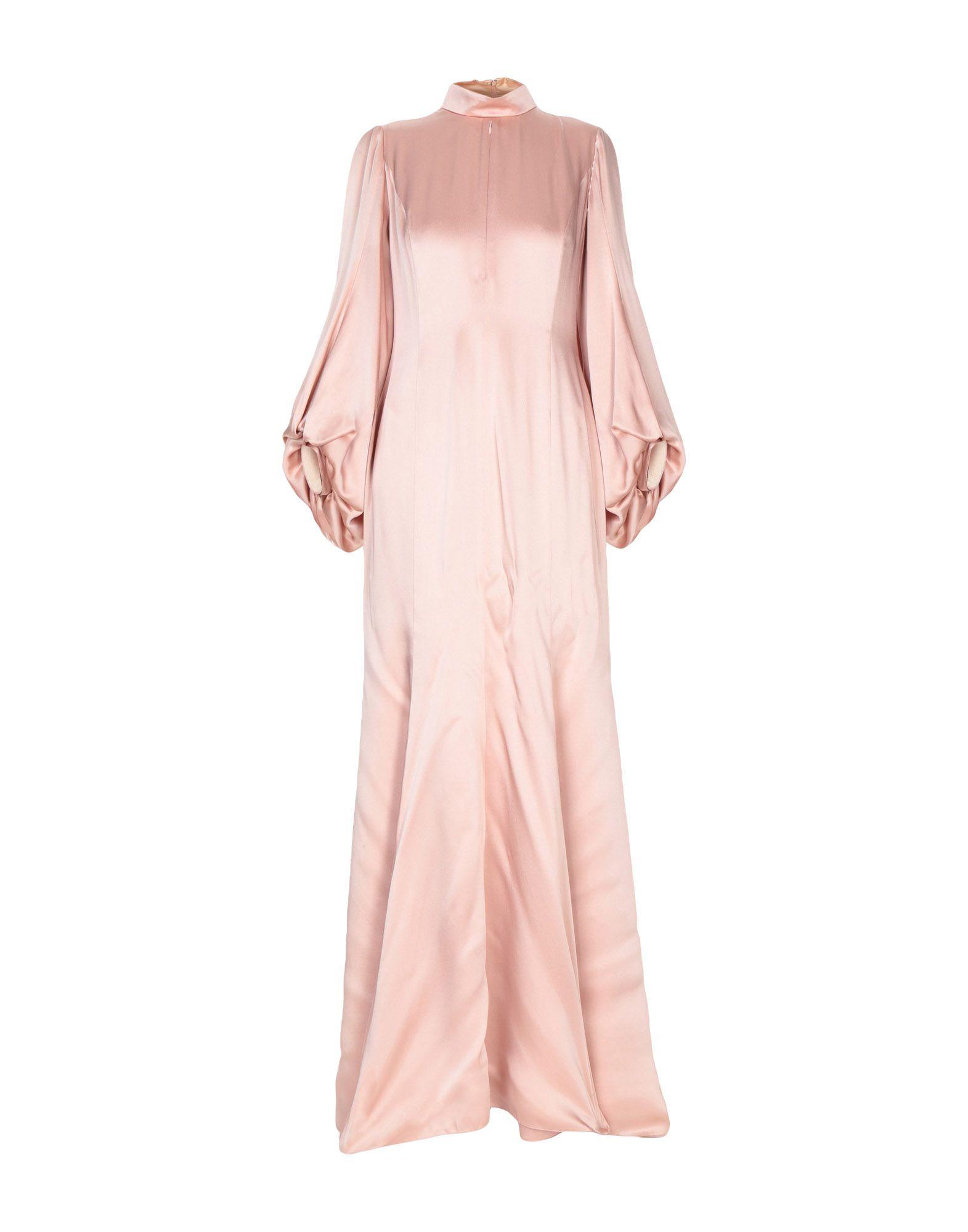 ANDREW GN Длинное платье цены онлайн