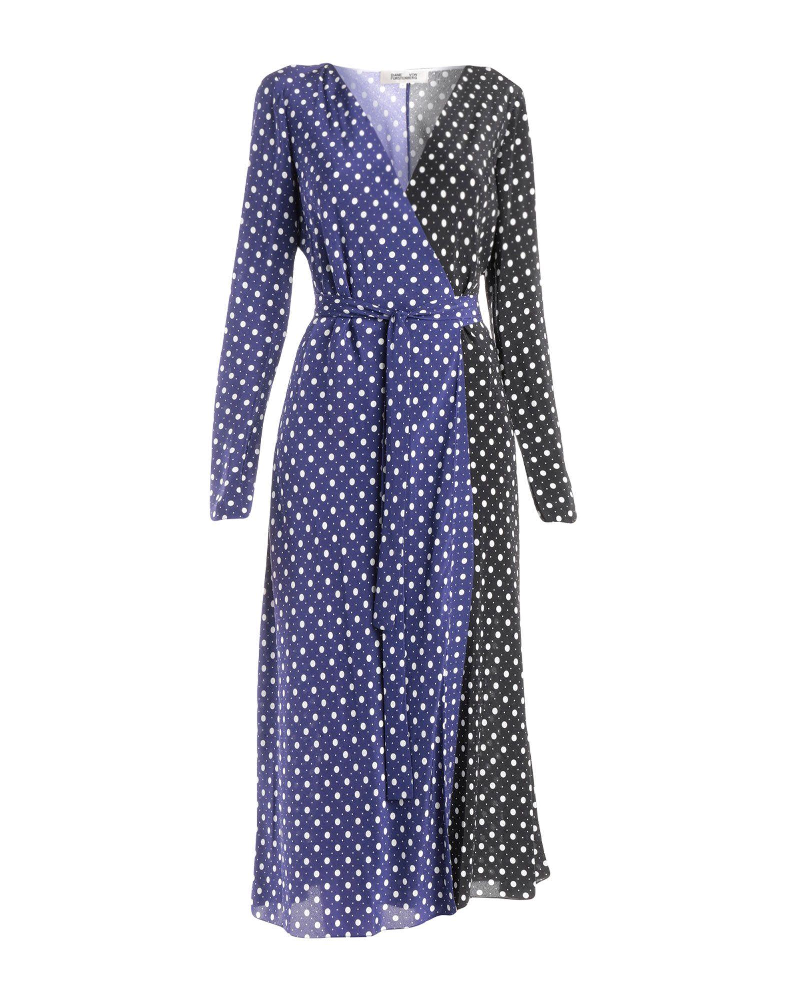 DIANE VON FURSTENBERG Платье длиной 3/4 платье 3 в 1