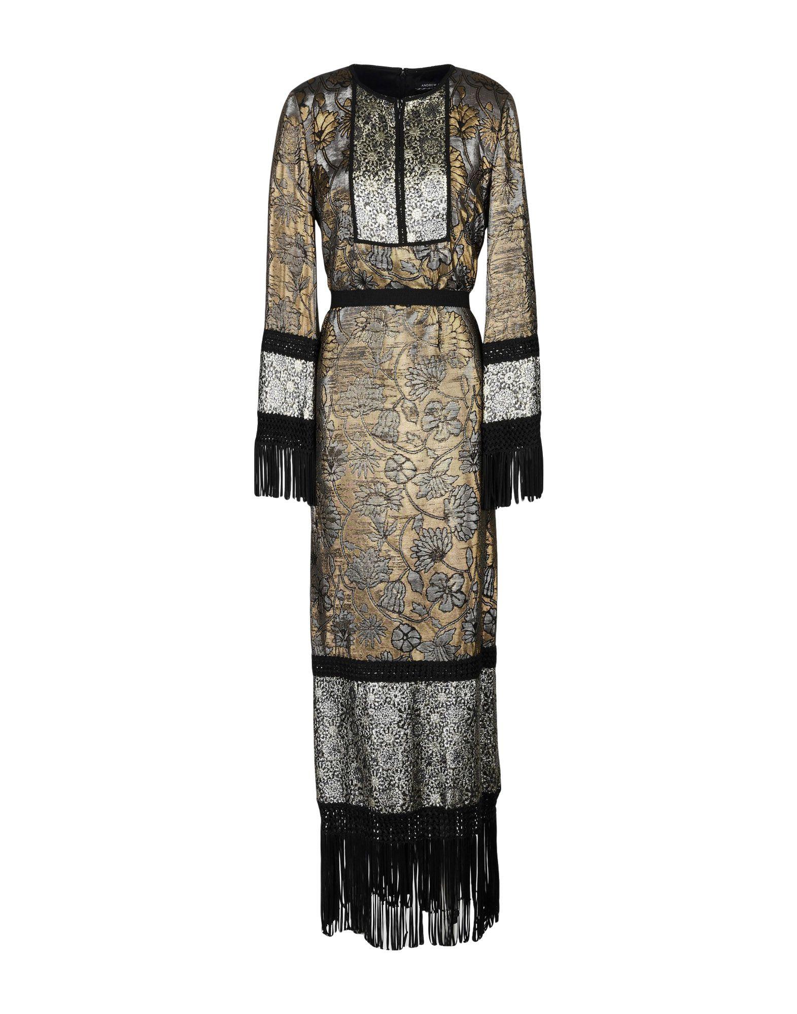 где купить ANDREW GN Длинное платье по лучшей цене