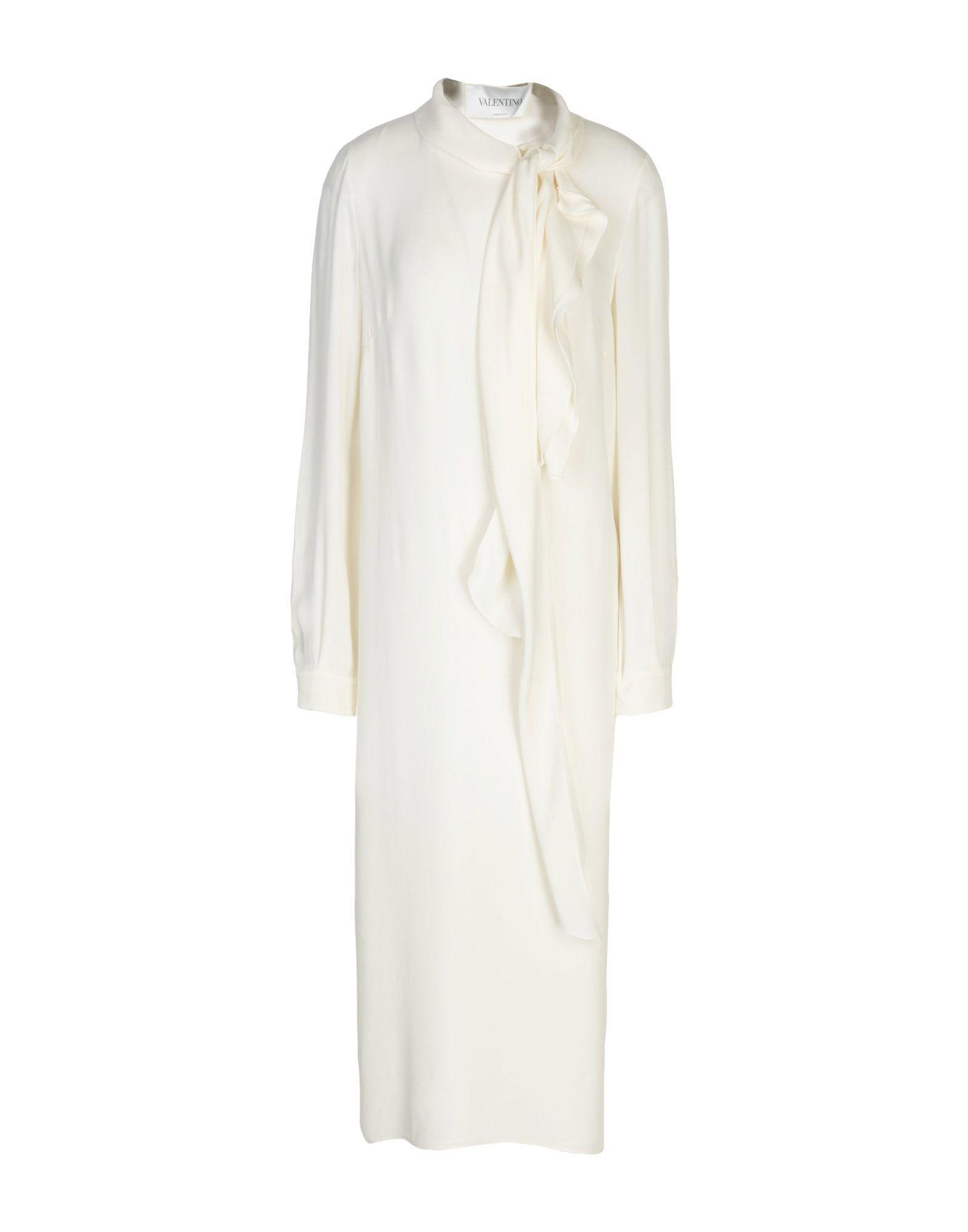 VALENTINO Платье длиной 3/4 платье рубашка fox yulia sway платье рубашка fox