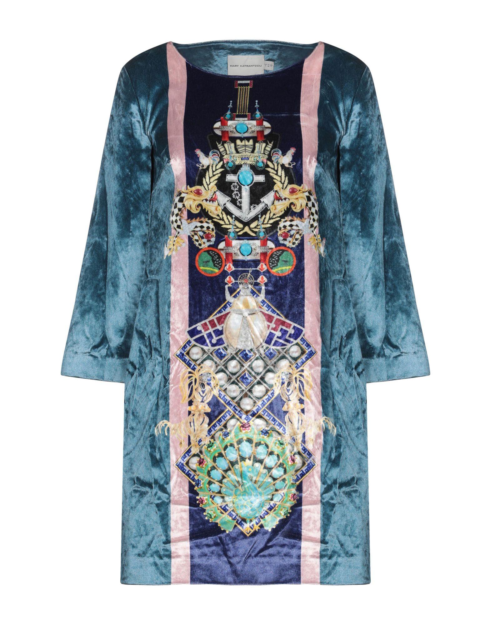 MARY KATRANTZOU Короткое платье цена 2017