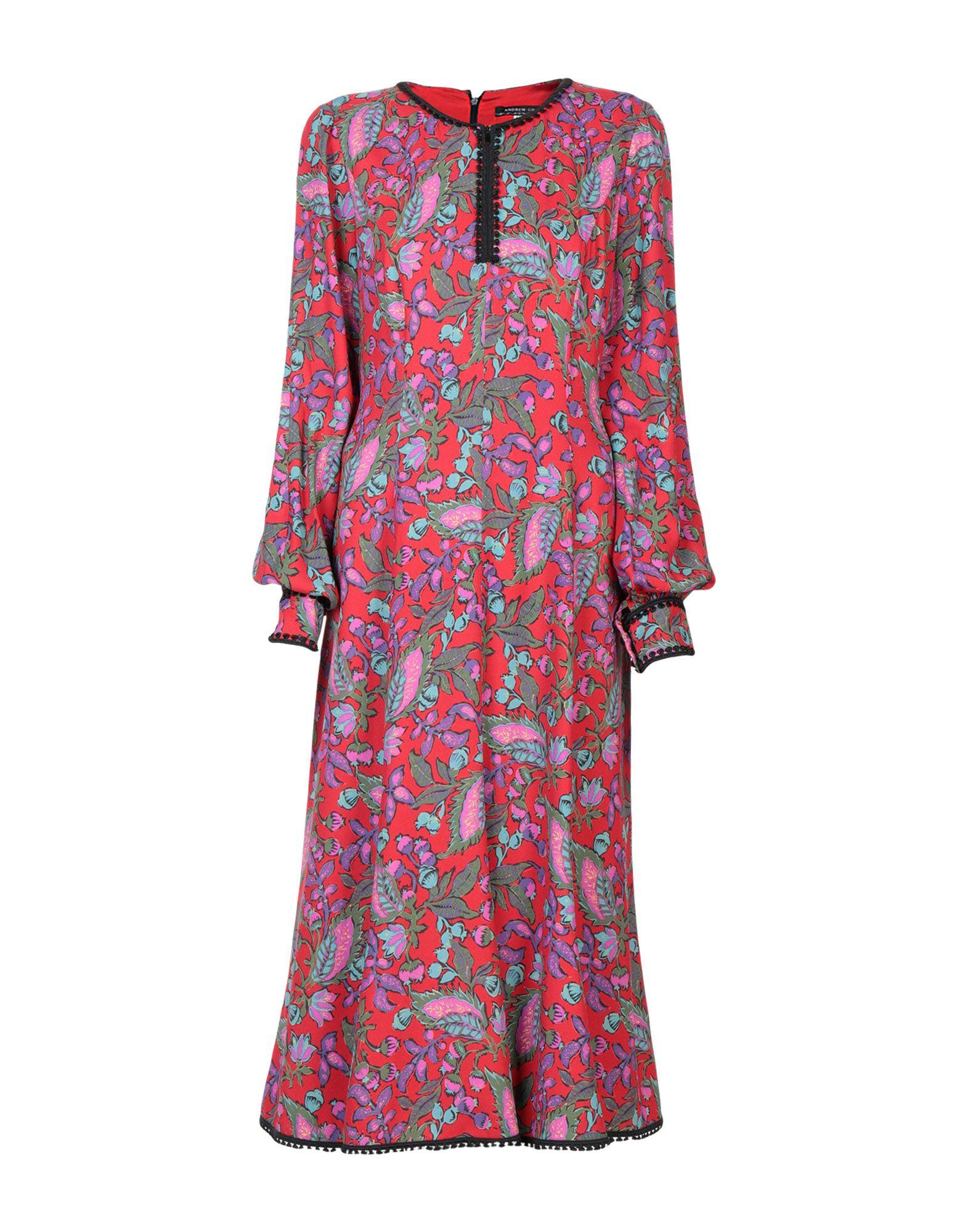 ANDREW GN Платье длиной 3/4 цена 2017
