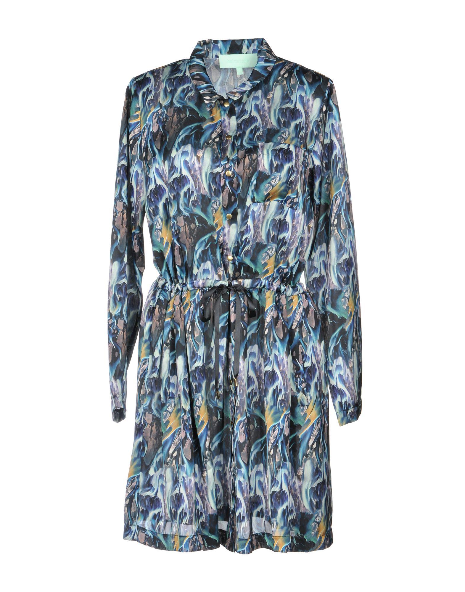 HEIMSTONE Короткое платье платье рубашка fox yulia sway платье рубашка fox