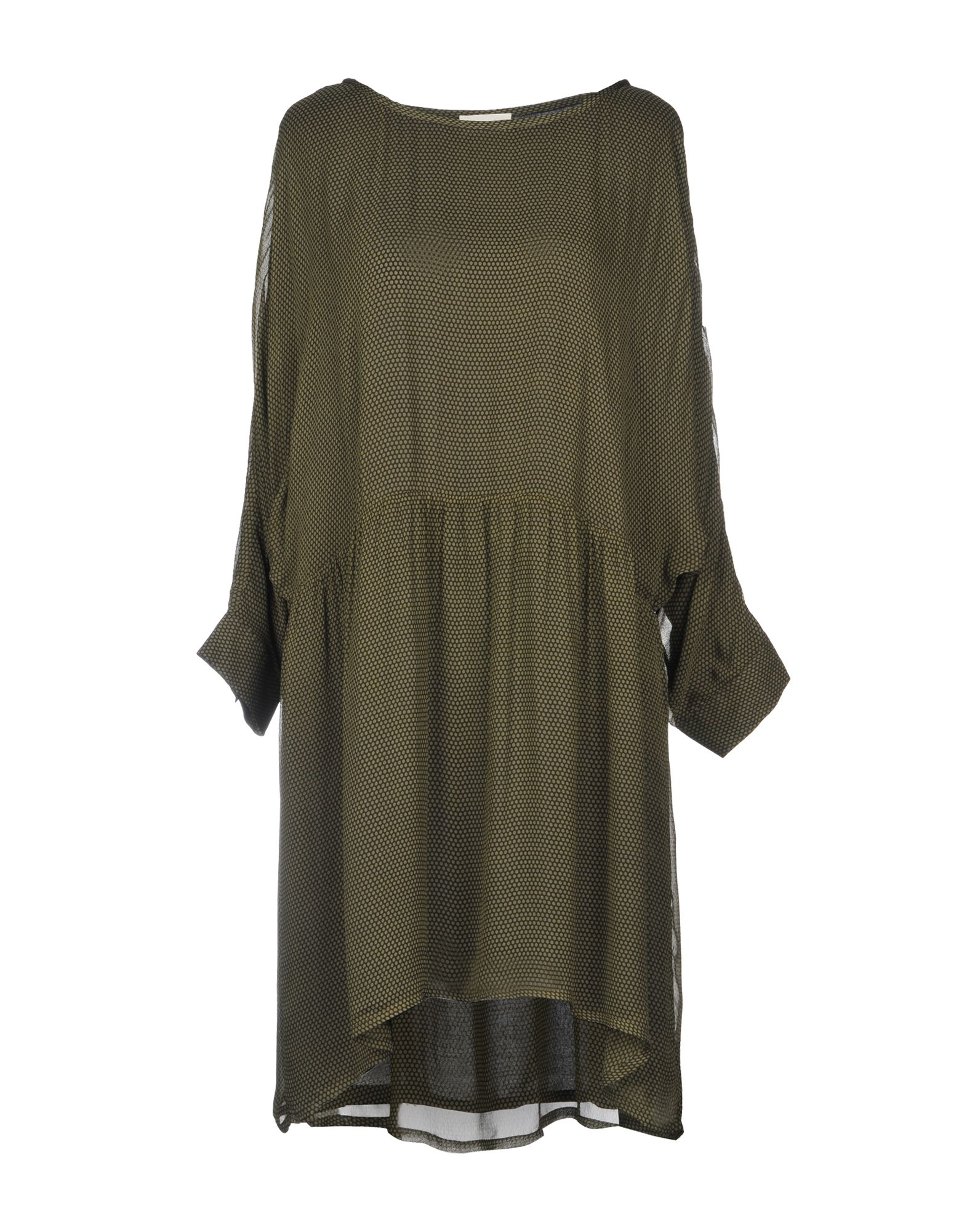 AMERICAN VINTAGE Short Dress in Military Green