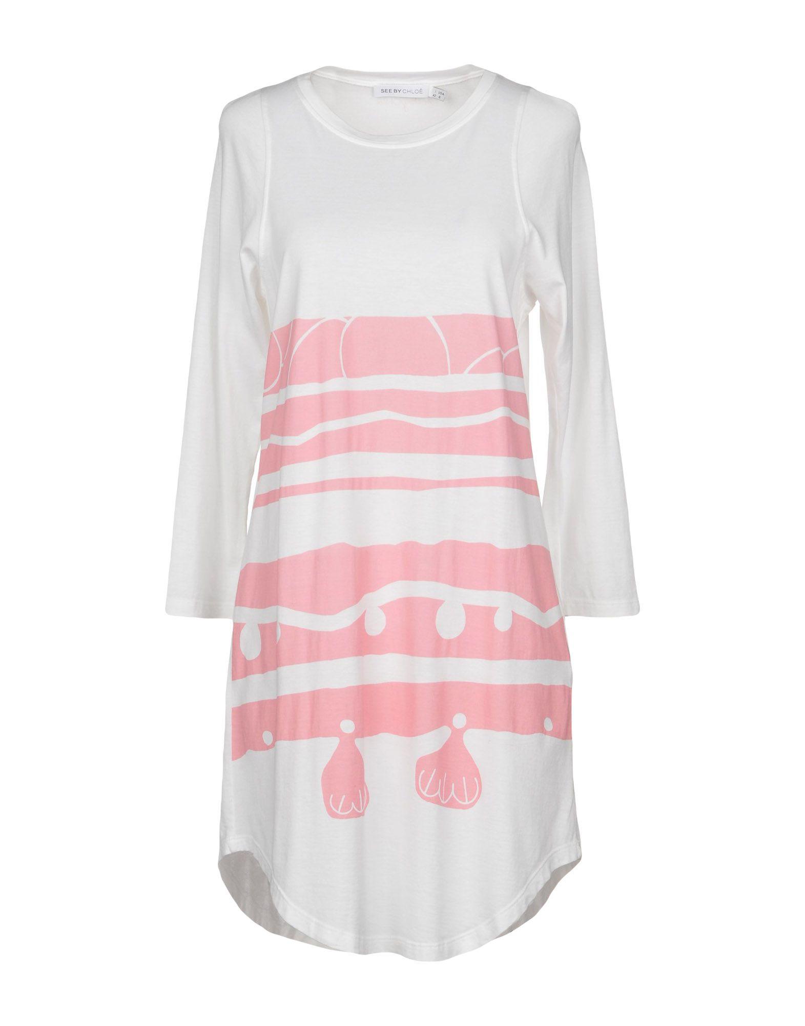 SEE BY CHLOÉ Короткое платье see by chloé платье длиной 3 4