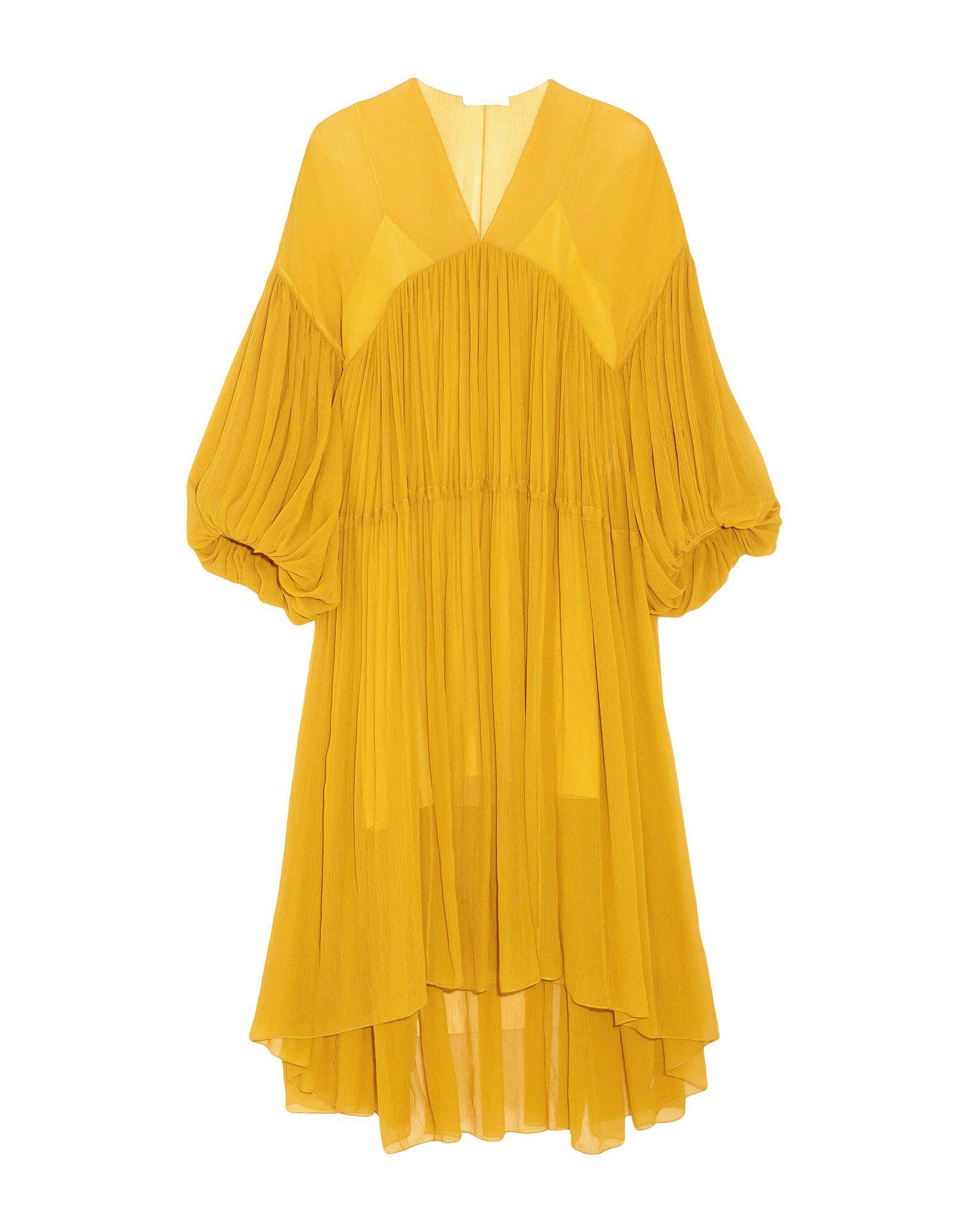 CHLOÉ Платье длиной 3/4 topshop платье длиной 3 4
