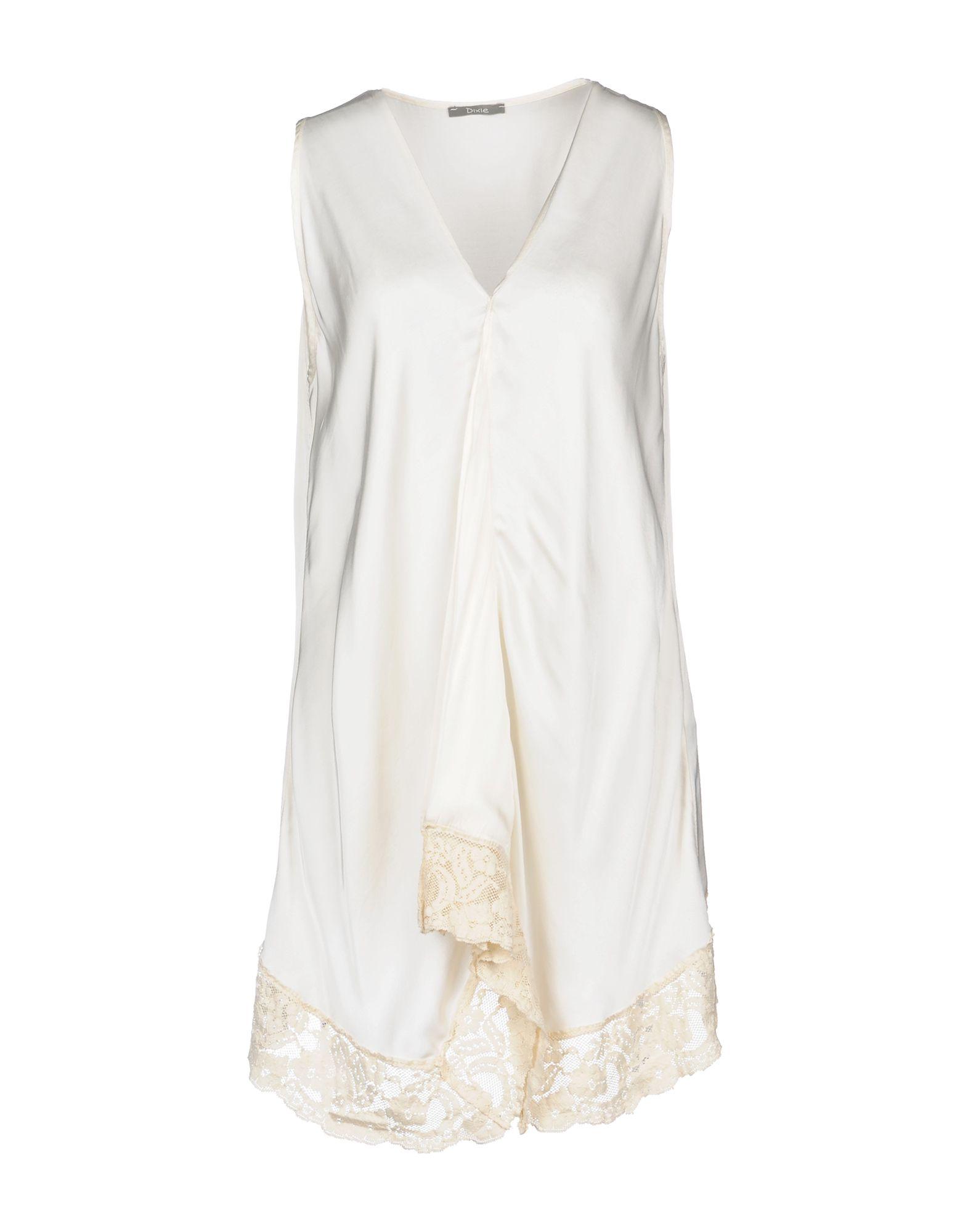 DIXIE Короткое платье платье без рукавов с кружевной вставкой на спинке