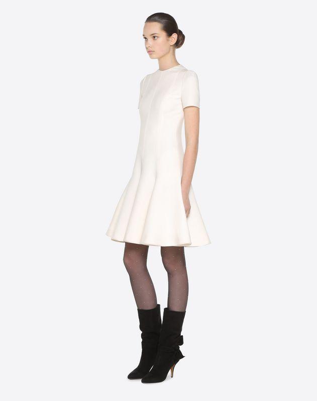 Платье из ткани Crêpe Couture