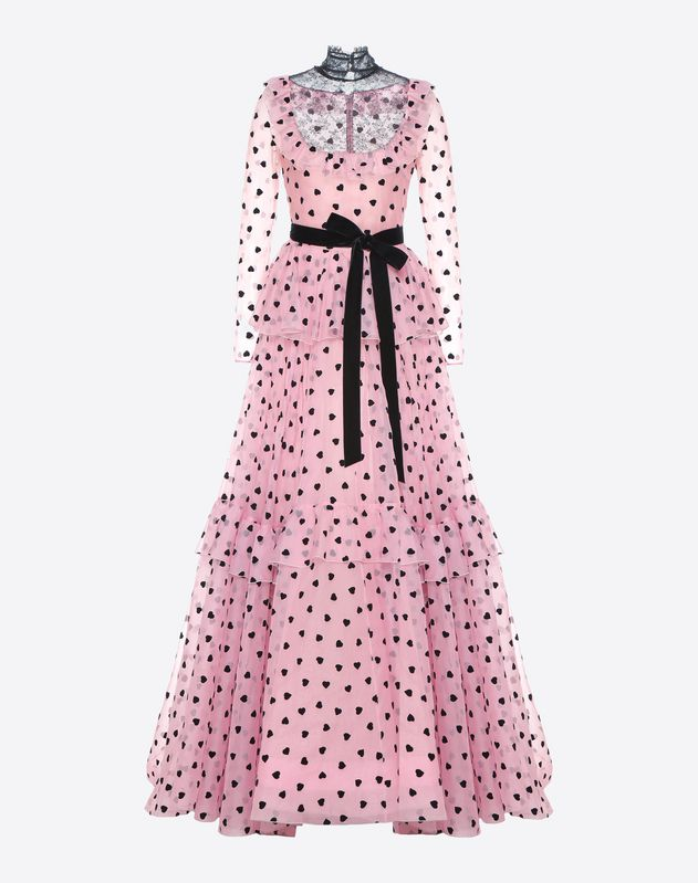 Pretty Hearts evening dress