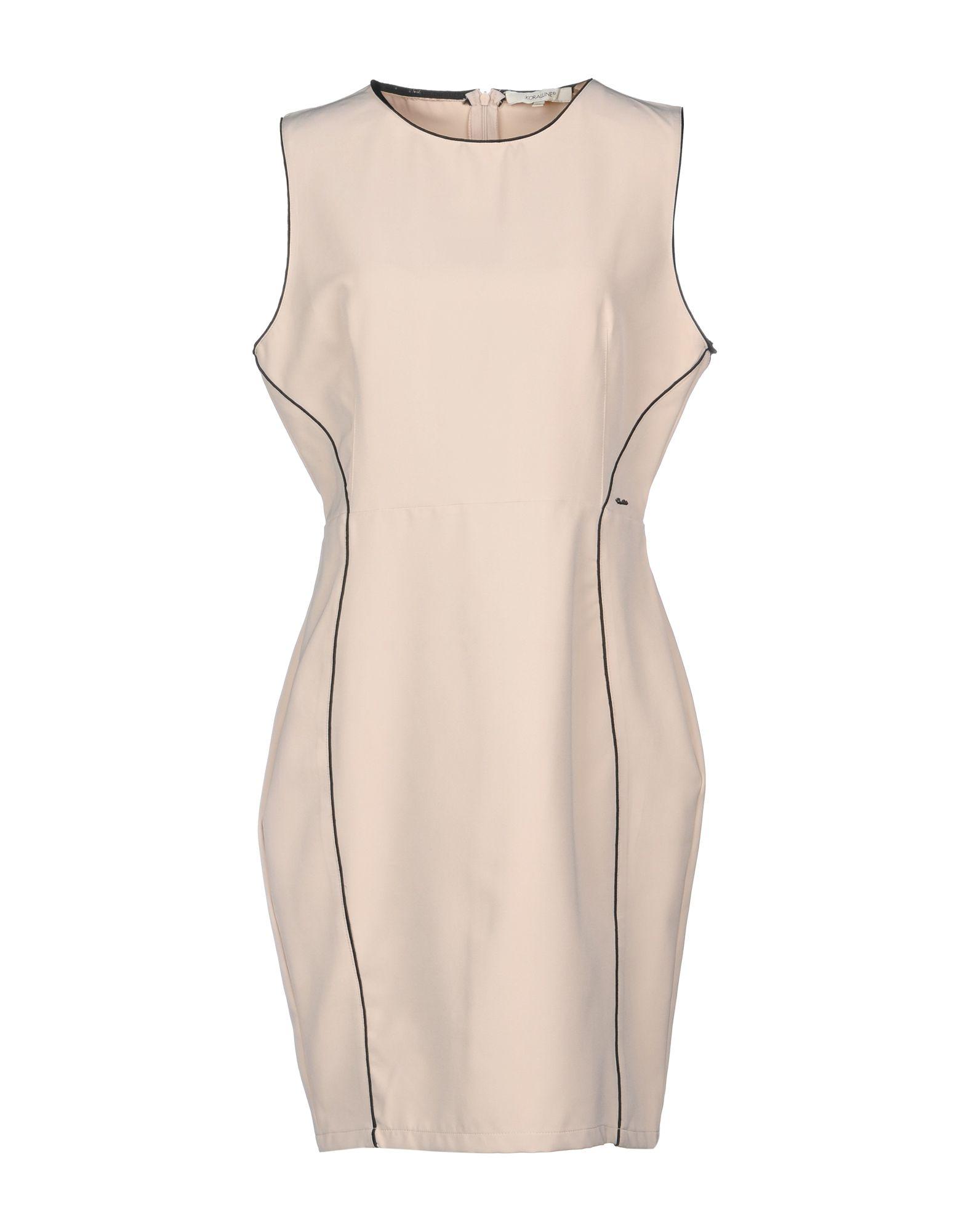 KORALLINE Короткое платье цена 2017