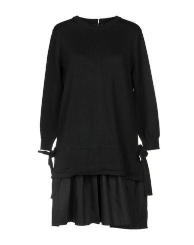 Фото - Женское короткое платье ENGLISH FACTORY черного цвета