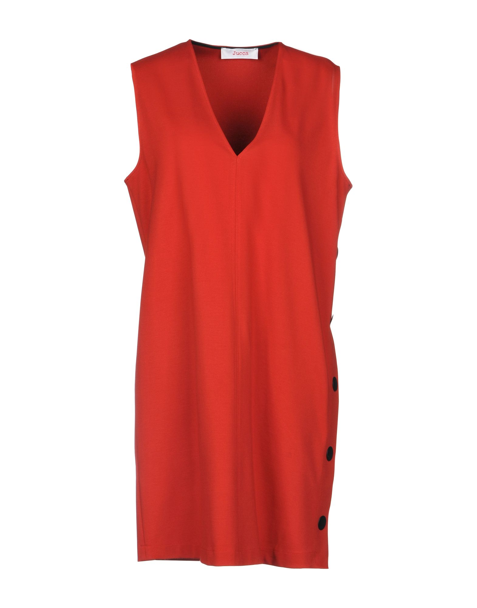 JUCCA Short Dress in Red