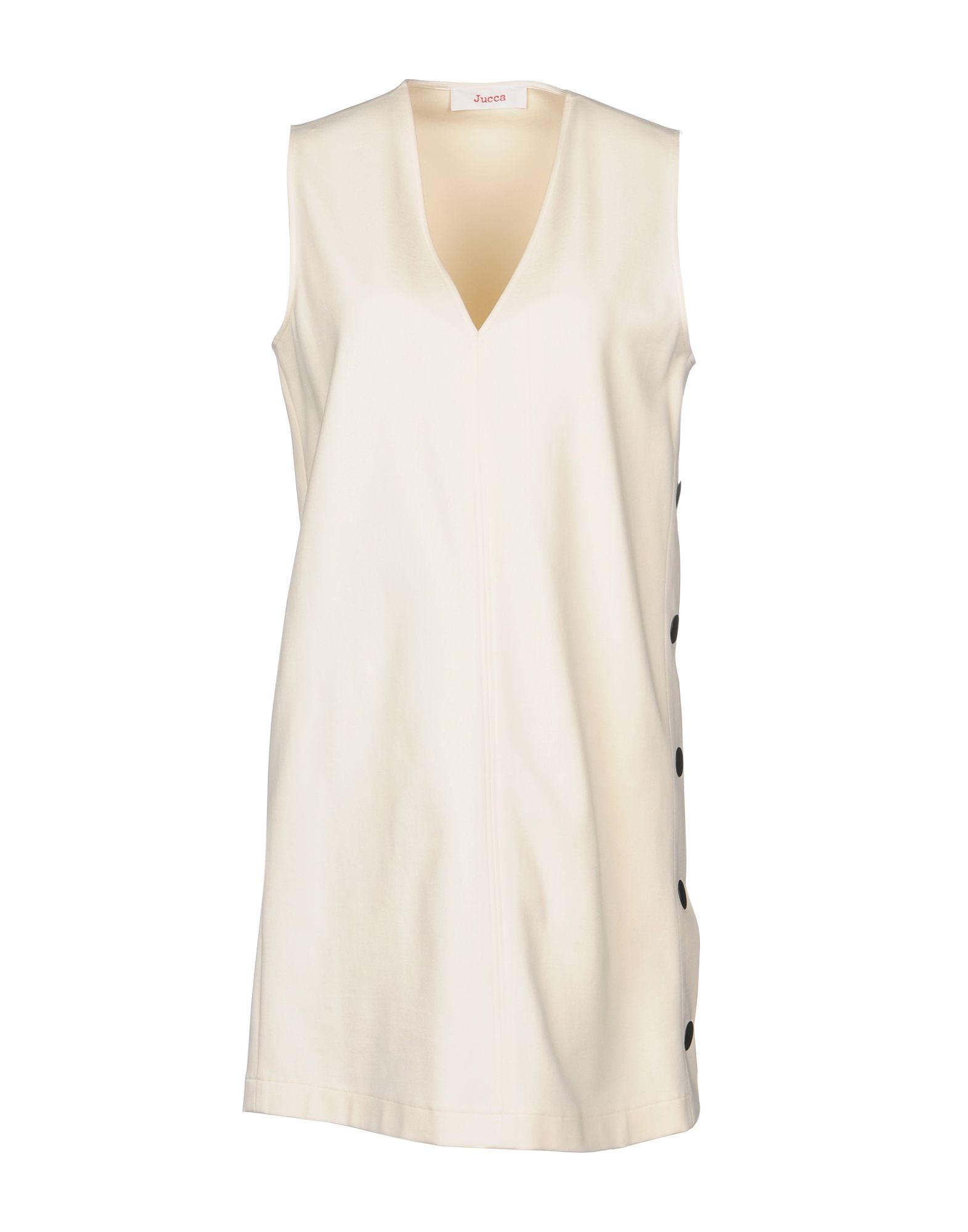 JUCCA Short Dress in Ivory