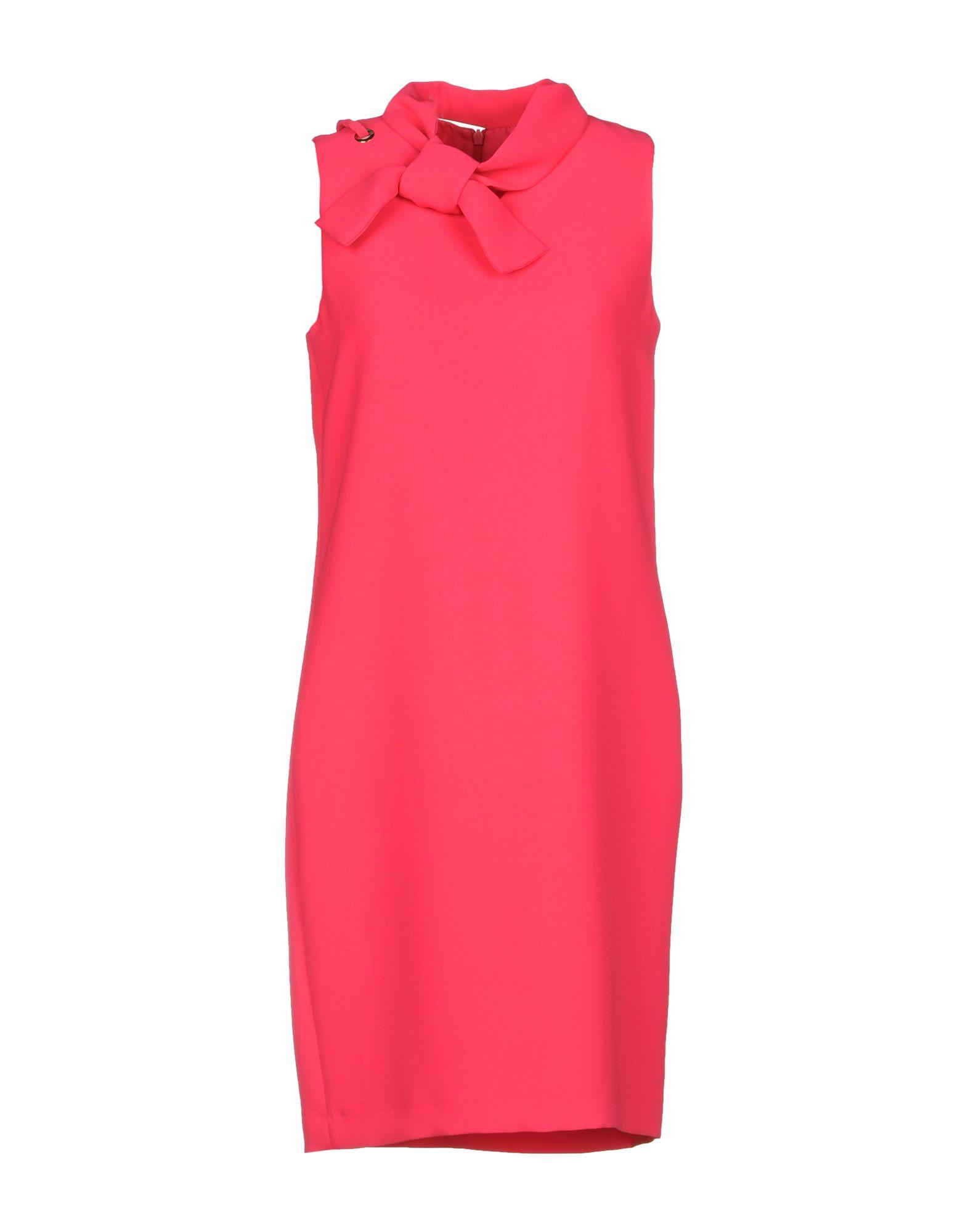 TARA JARMON Short Dress in Fuchsia
