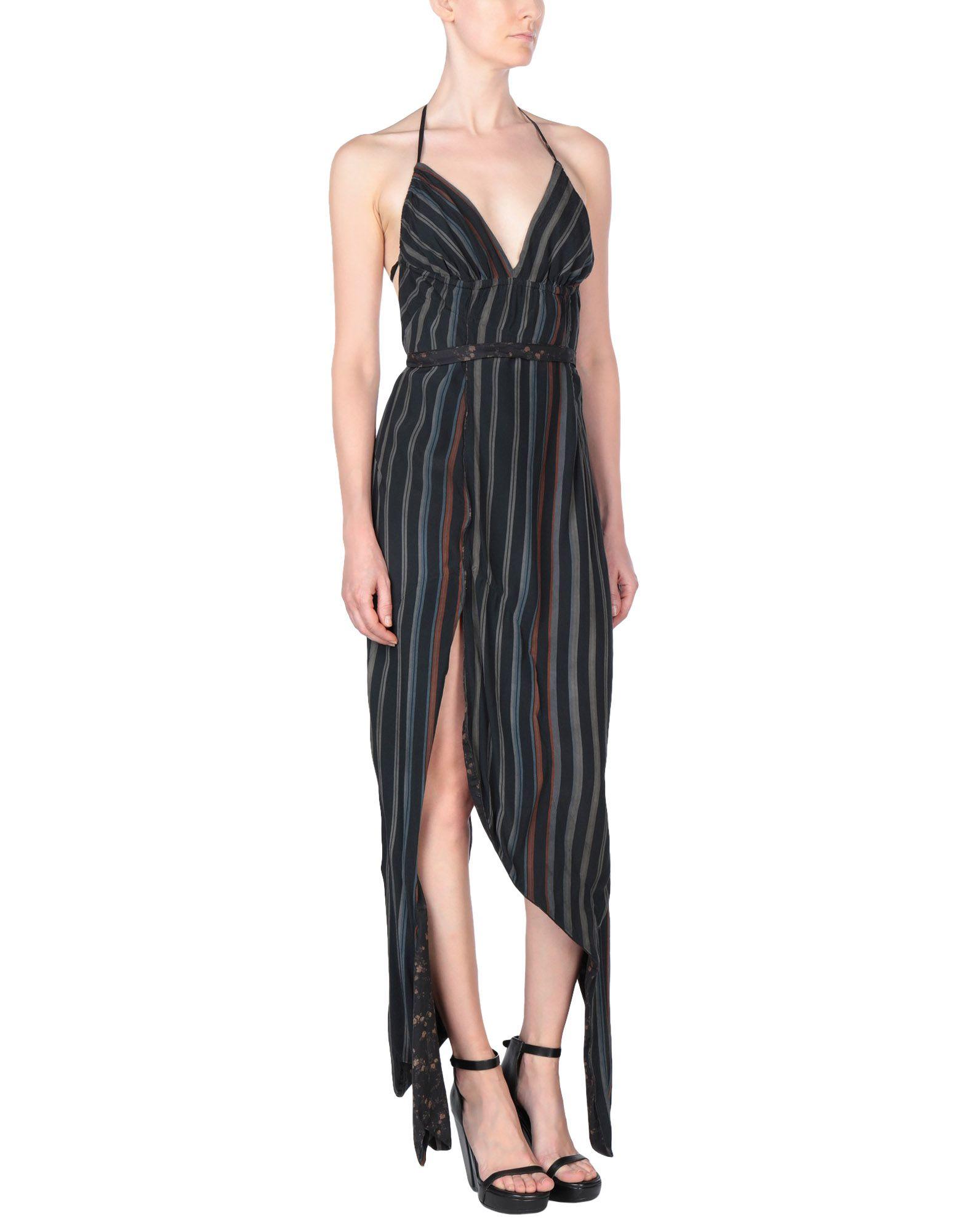 《送料無料》ANDREAS KRONTHALER for VIVIENNE WESTWOOD レディース ミニワンピース&ドレス ブラック 2 レーヨン 100% / コットン