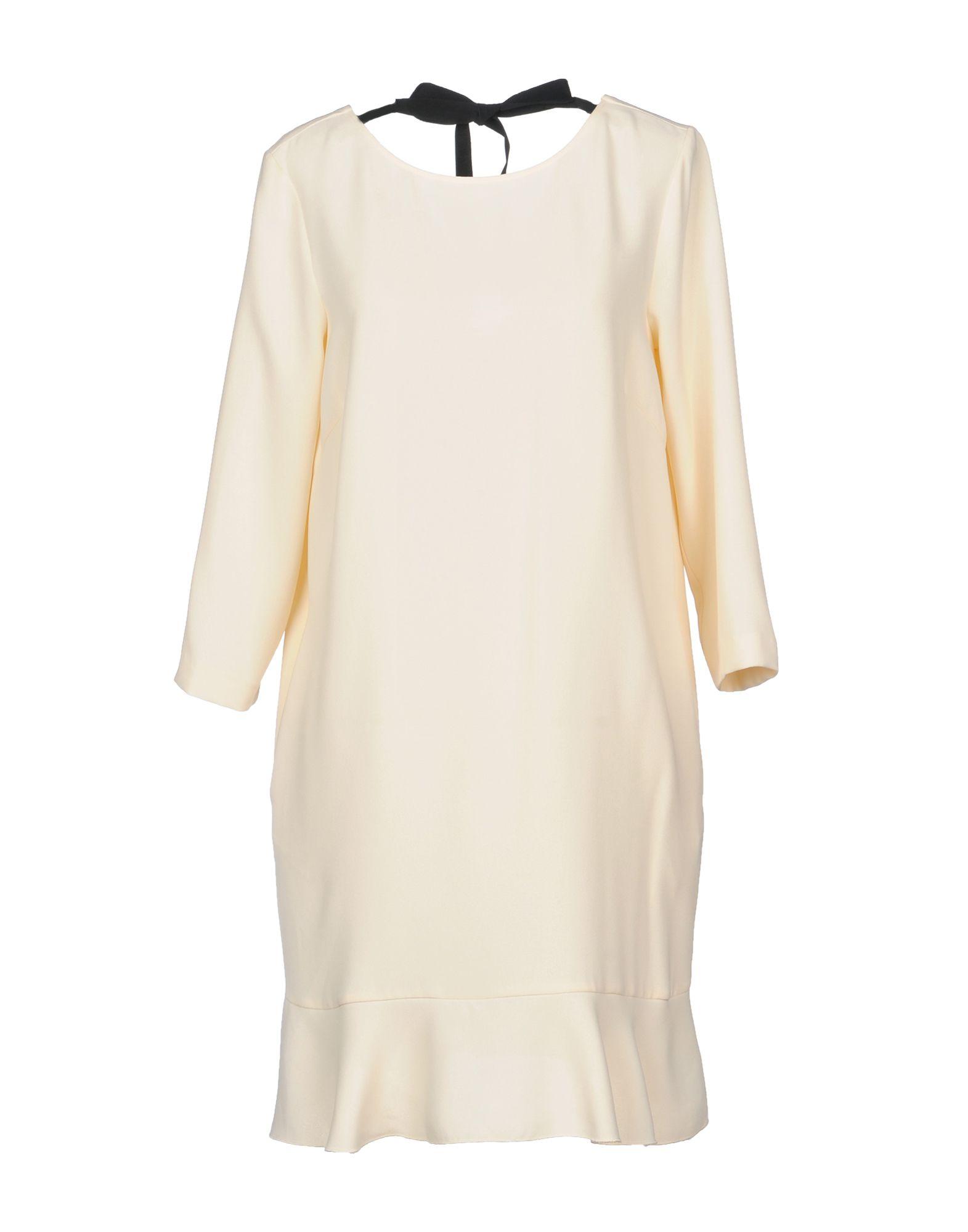 JUCCA Short Dress in Beige