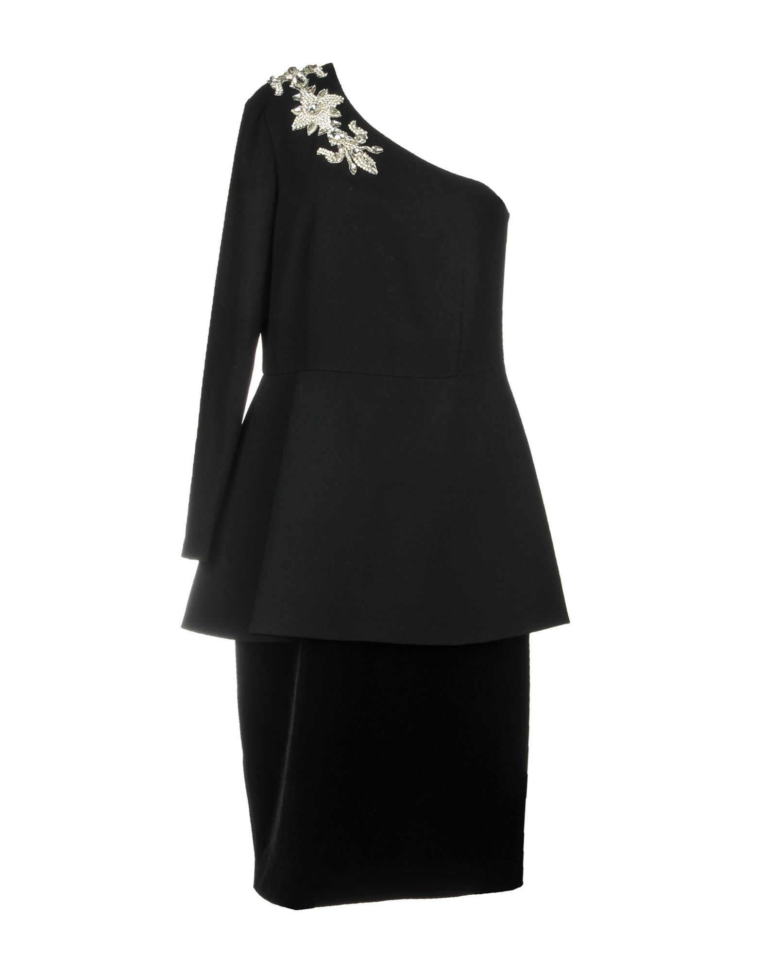STEFANO DE LELLIS Knee-Length Dresses in Black
