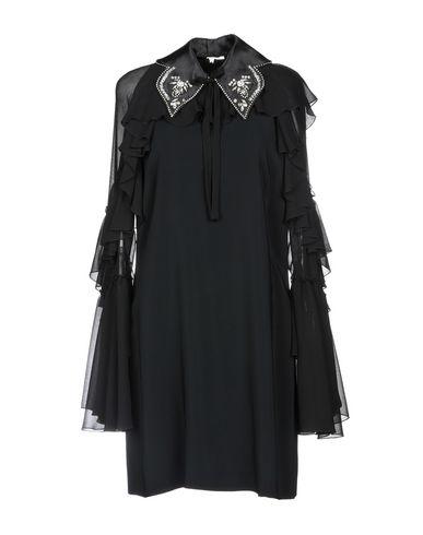 Купить Женское короткое платье GAMBA черного цвета