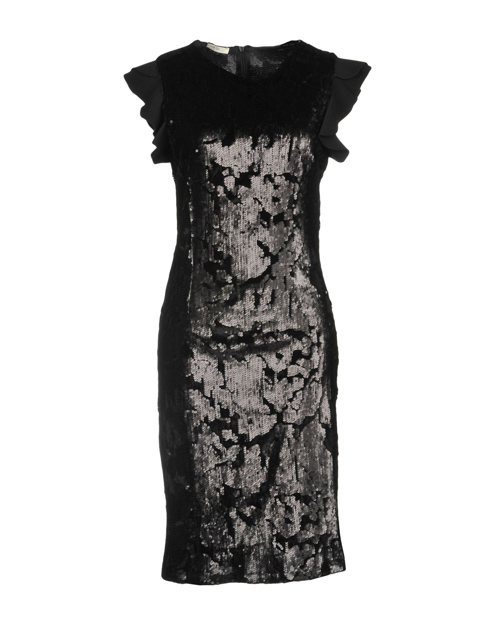 #LINEA 22 Платье до колена платье prima linea цвет красный белый