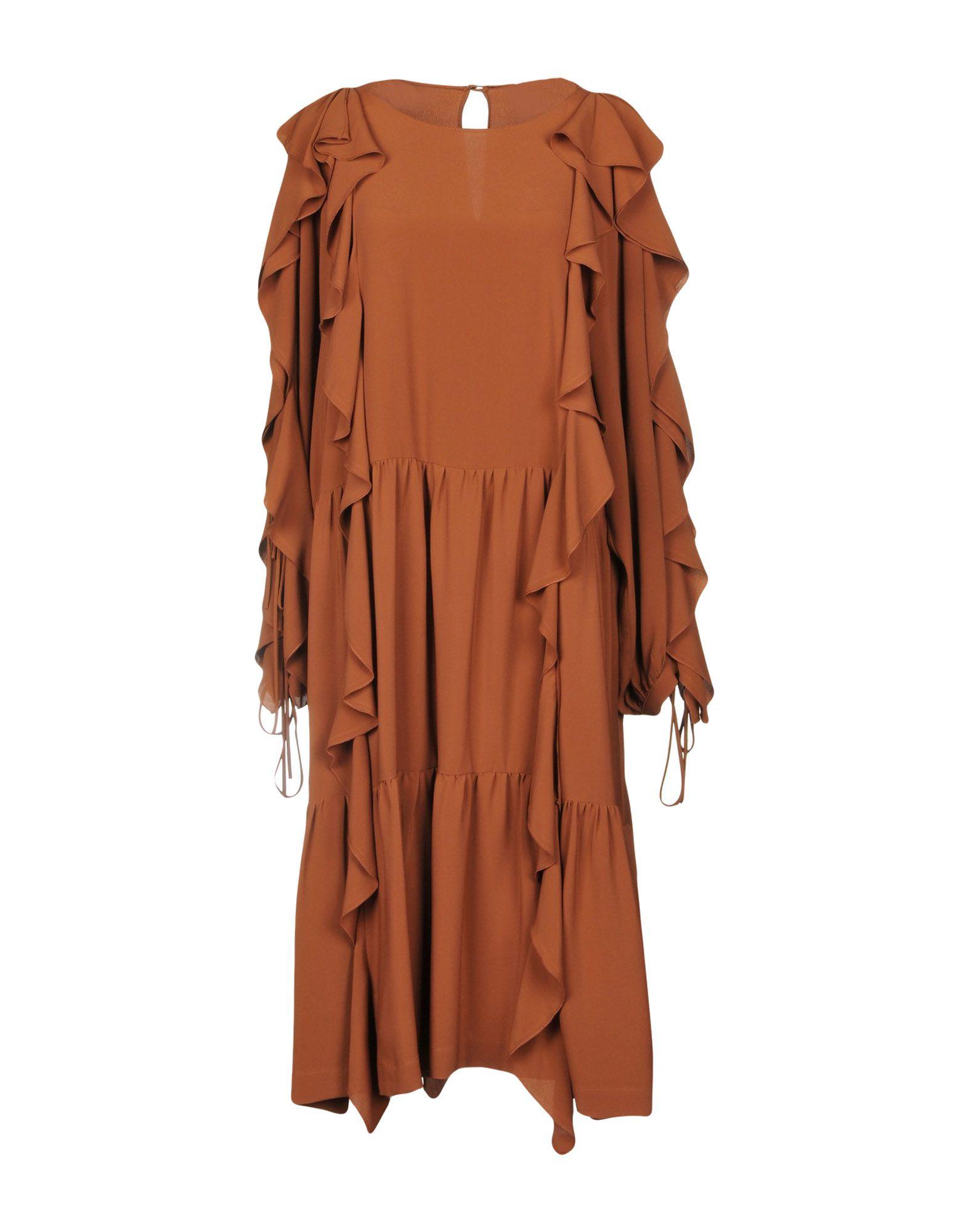 ERIKA CAVALLINI Платье до колена цена 2017