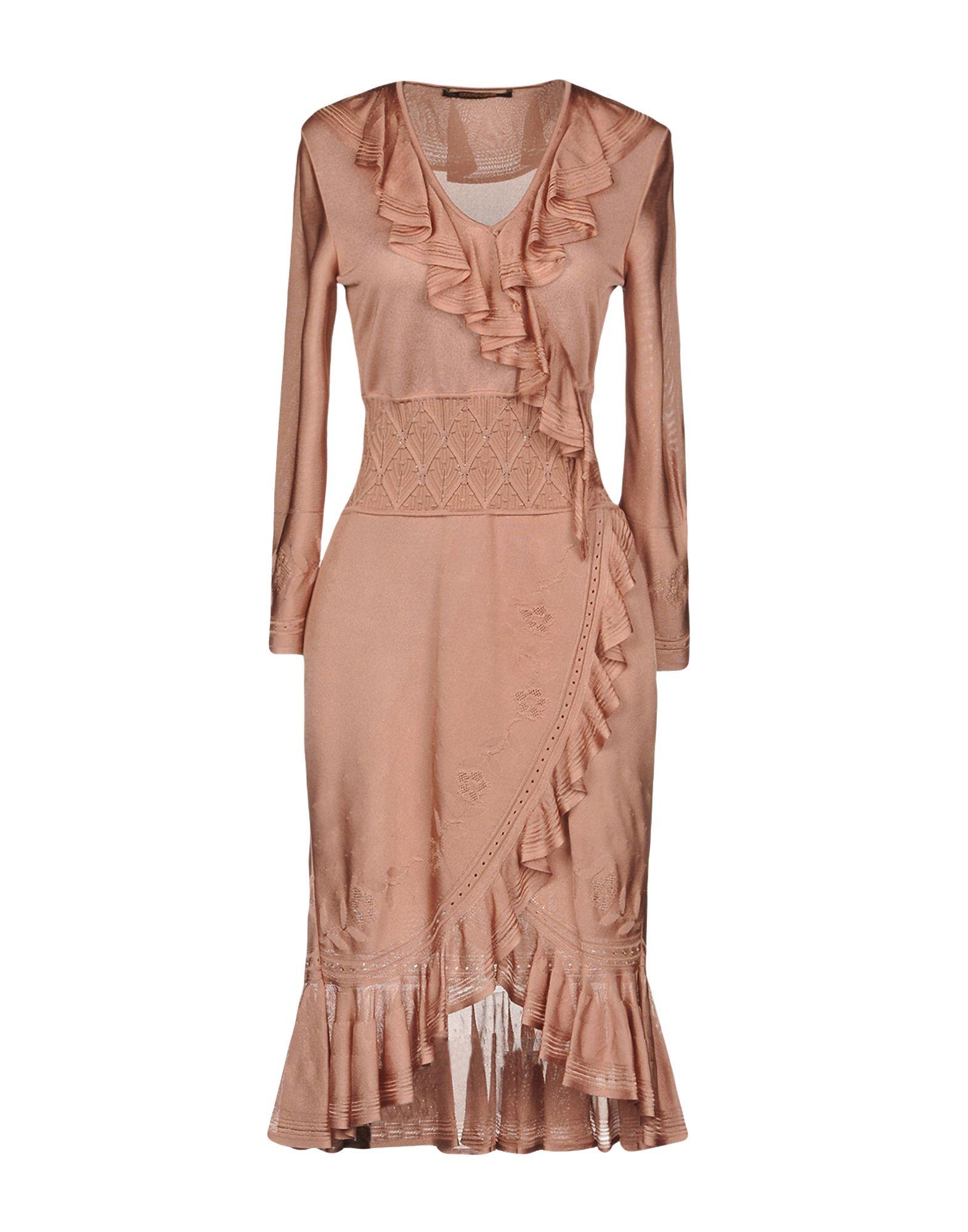 ROBERTO CAVALLI Короткое платье цена 2017