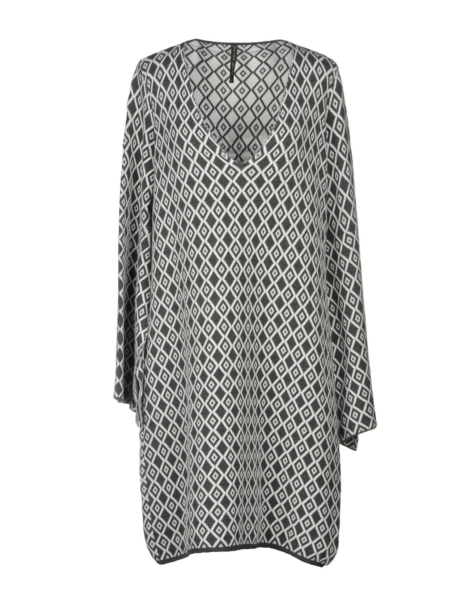 MANILA GRACE Платье до колена цена 2017
