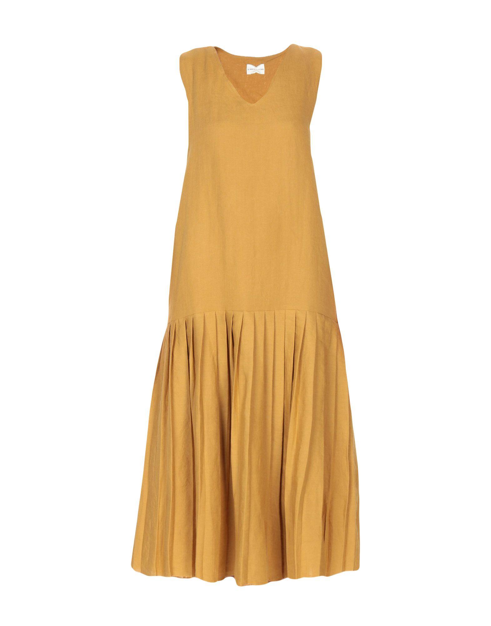 SIMON MILLER Платье длиной 3/4 nicole miller artelier платье длиной 3 4