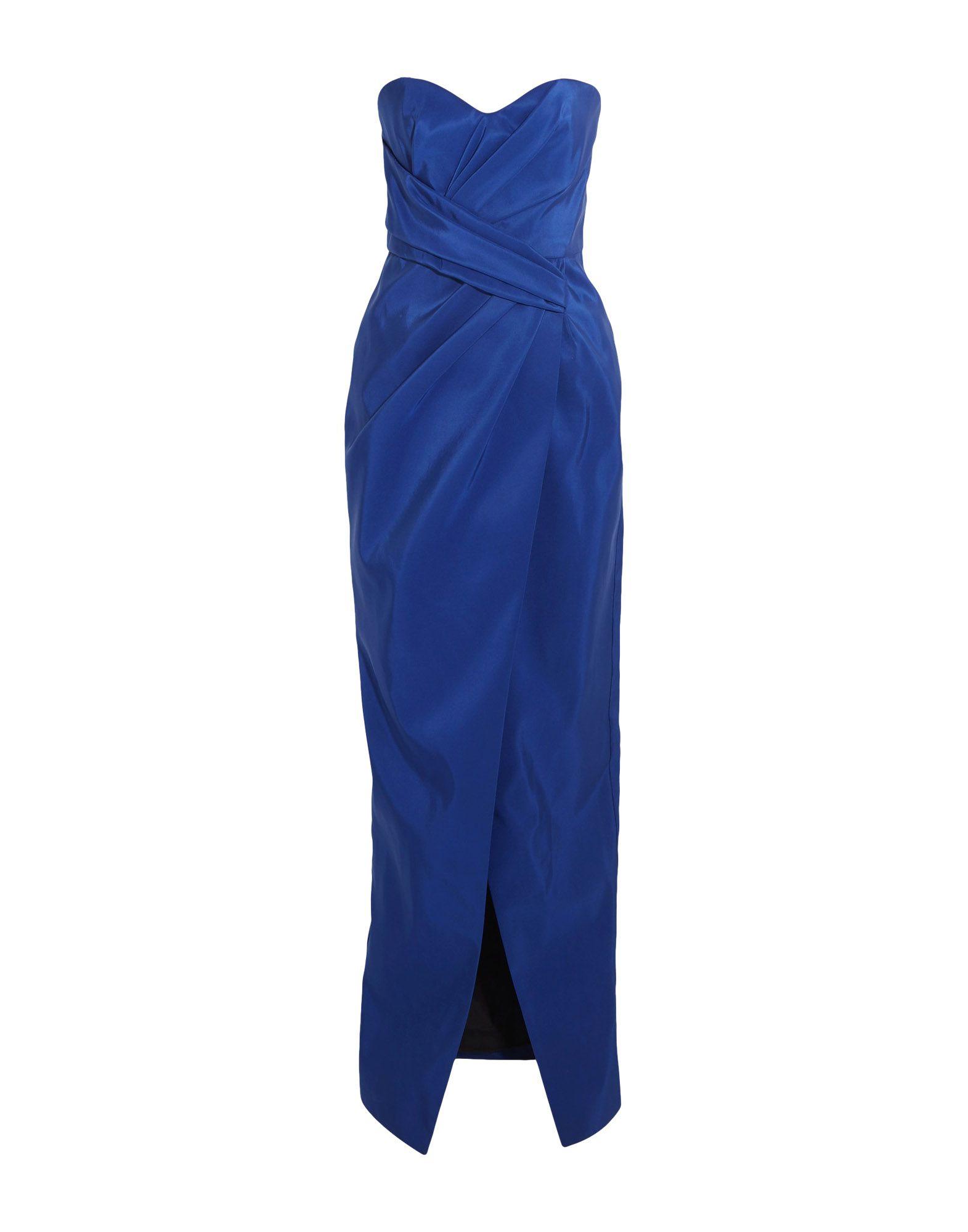 《送料無料》J.MENDEL レディース ロングワンピース&ドレス ブルー 10 100% シルク